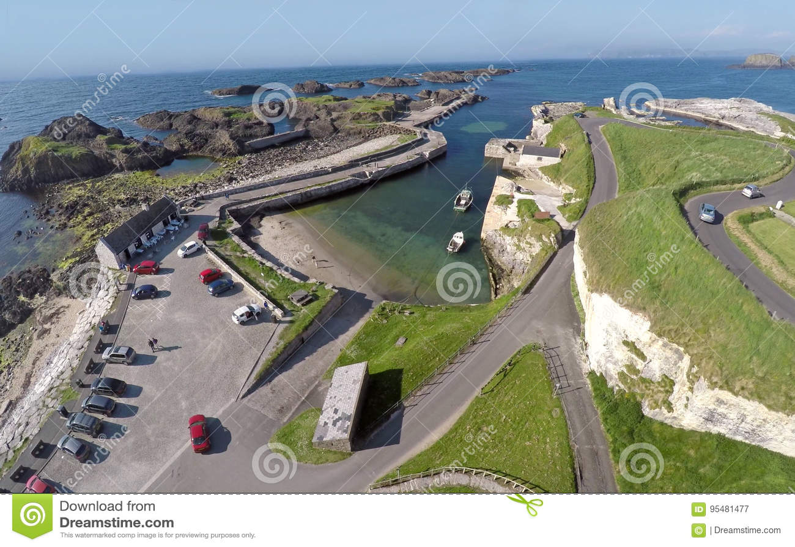 Ballintoy schronienie Północny - Ireland