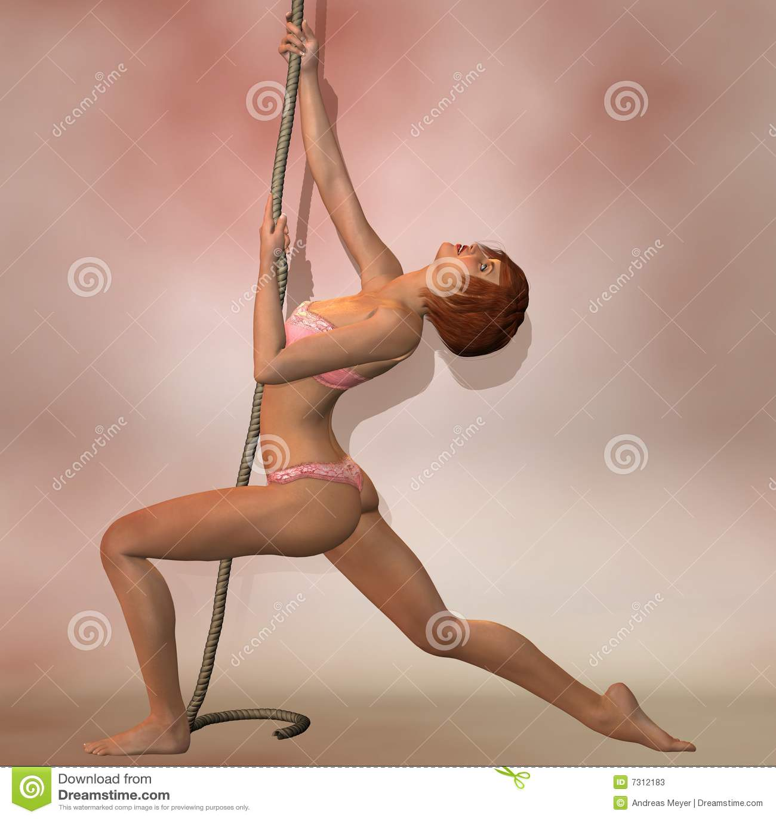 Ballo sexy della corda