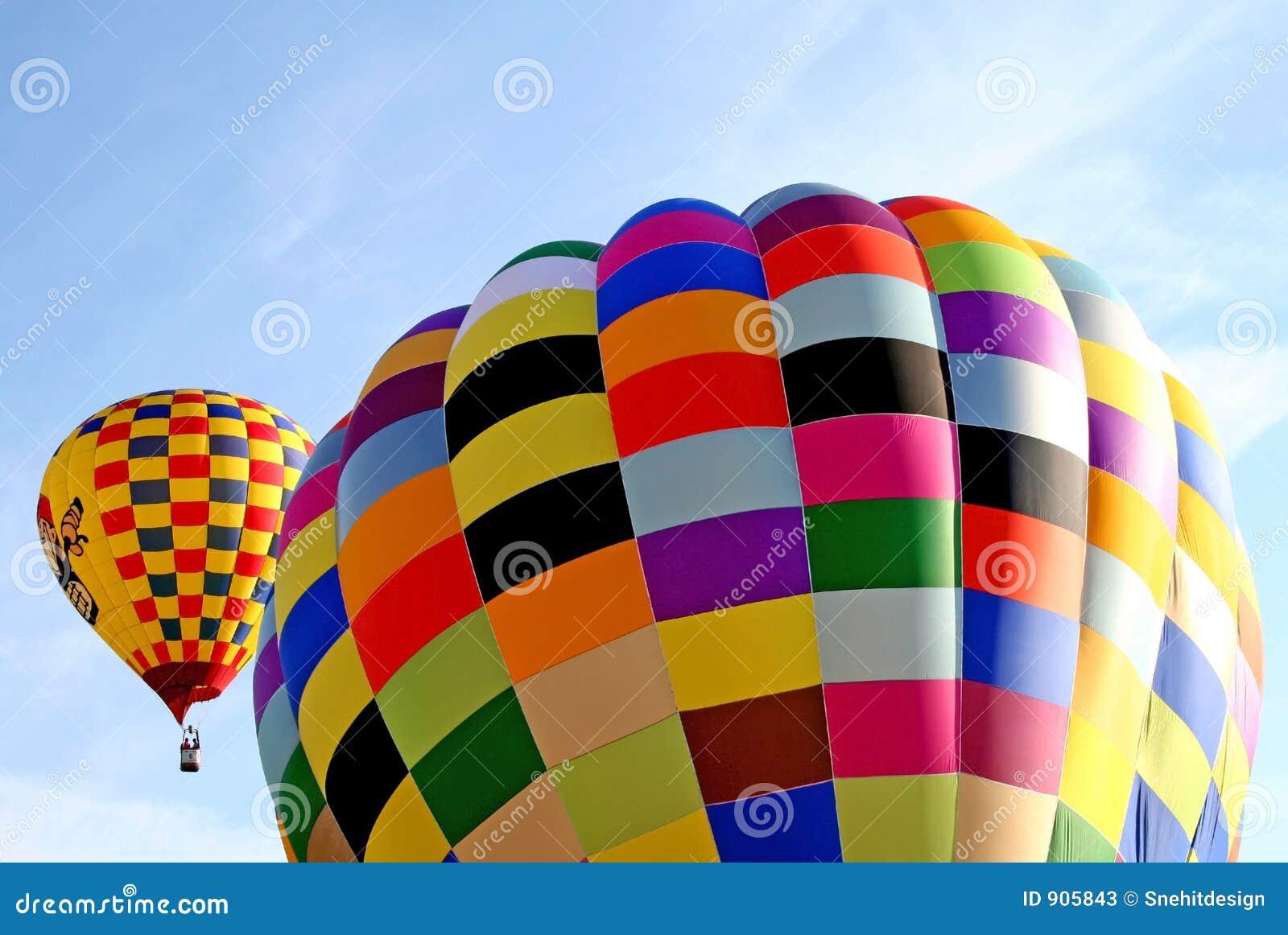 Ballon coloré