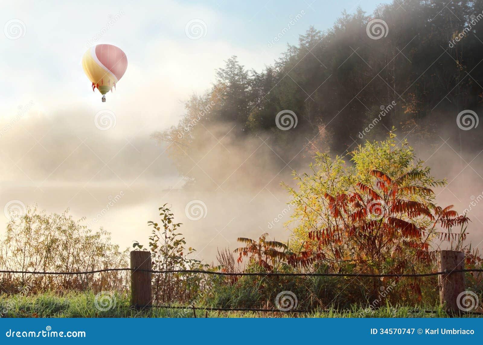 Ballon d air chaud
