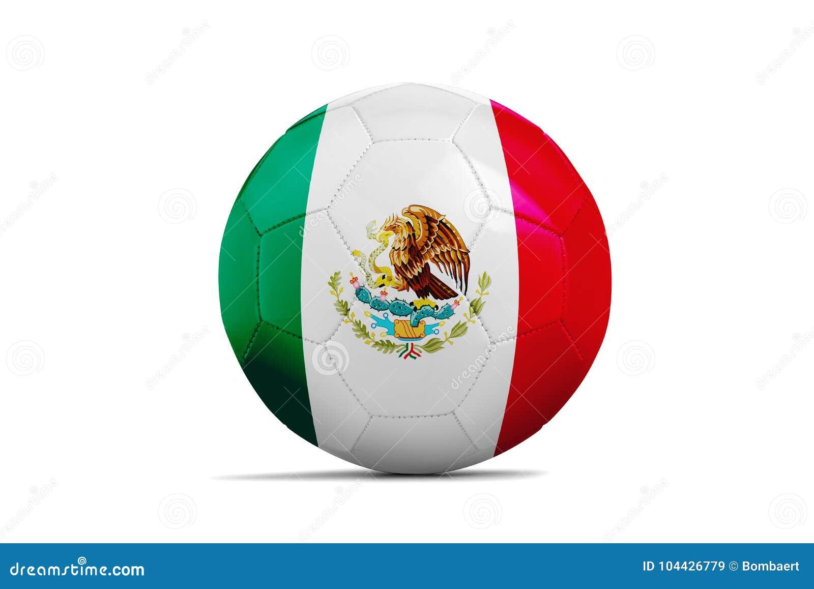 Ballon De Football Avec Le Drapeau Déquipe Russie 2018 Mexico