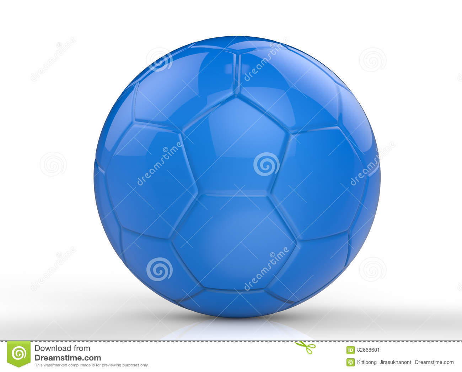 1efa95e454e8d Ballon de football bleu illustration stock. Illustration du sport ...