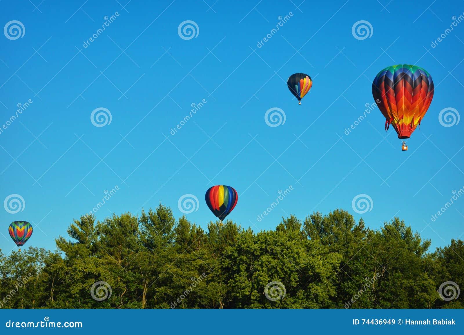 Ballons à air chauds