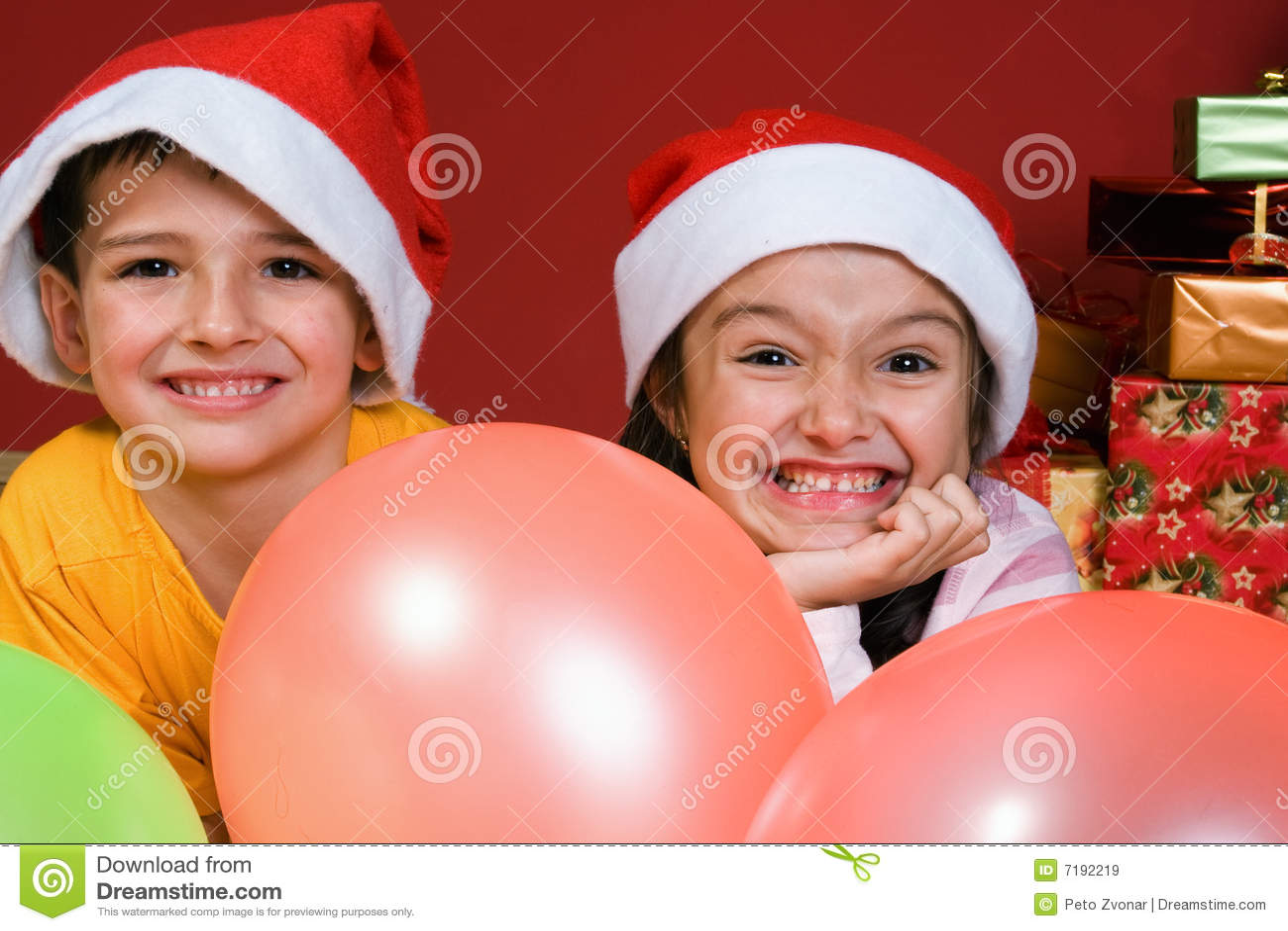 Ballons χριστουγεννιάτικο δέντρο παιδιών