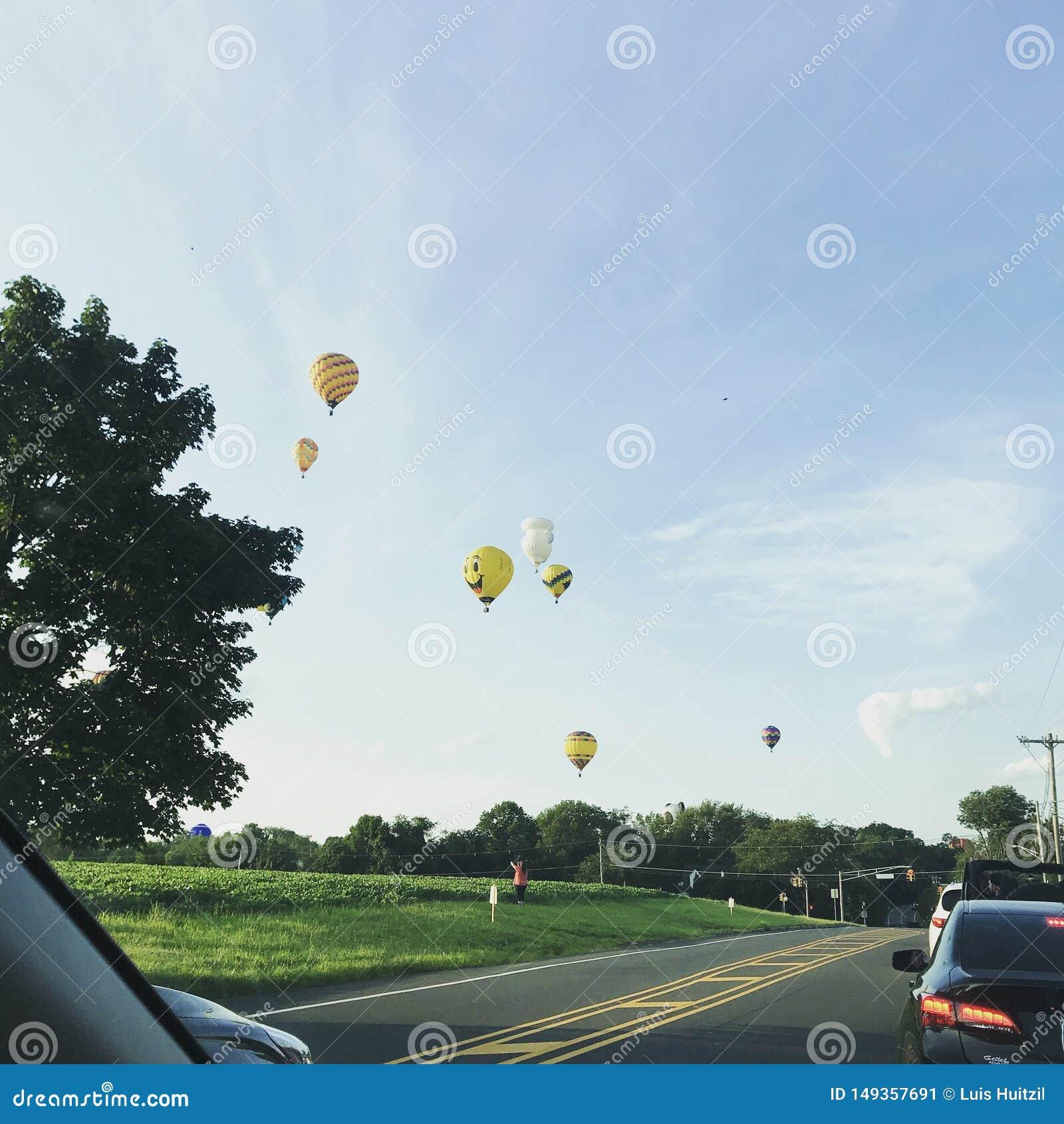 Ballons ? air chauds