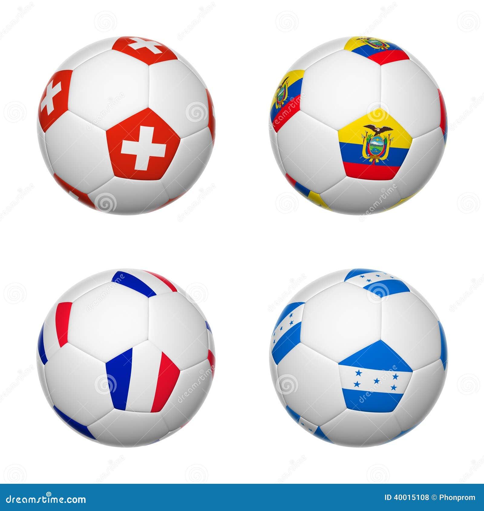 Ballons de football du Brésil 2014, groupe E