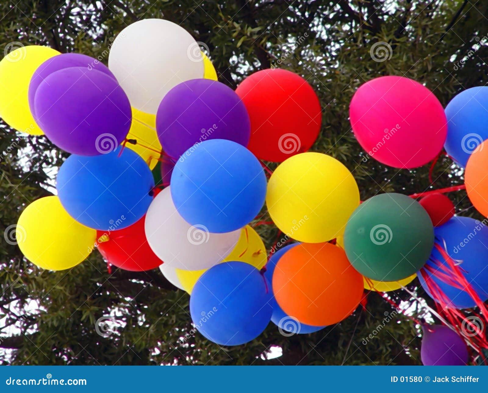 Ballons de réception