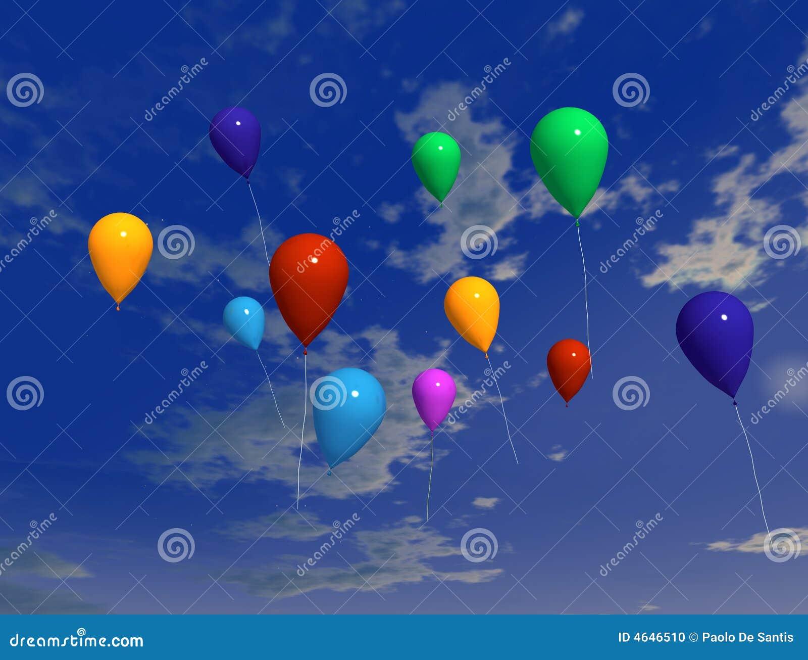 Ballons no ar 2