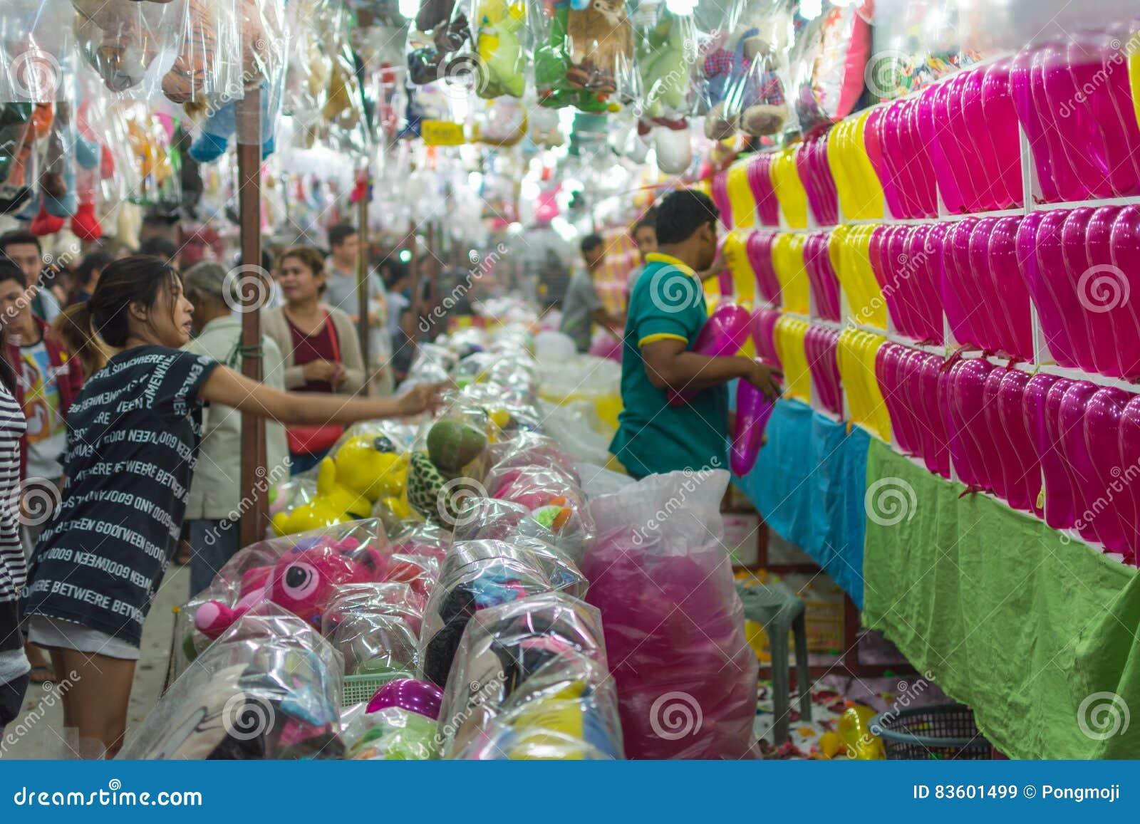 Balloon Darts Game In A Temple Festival Carnival Editorial Stock