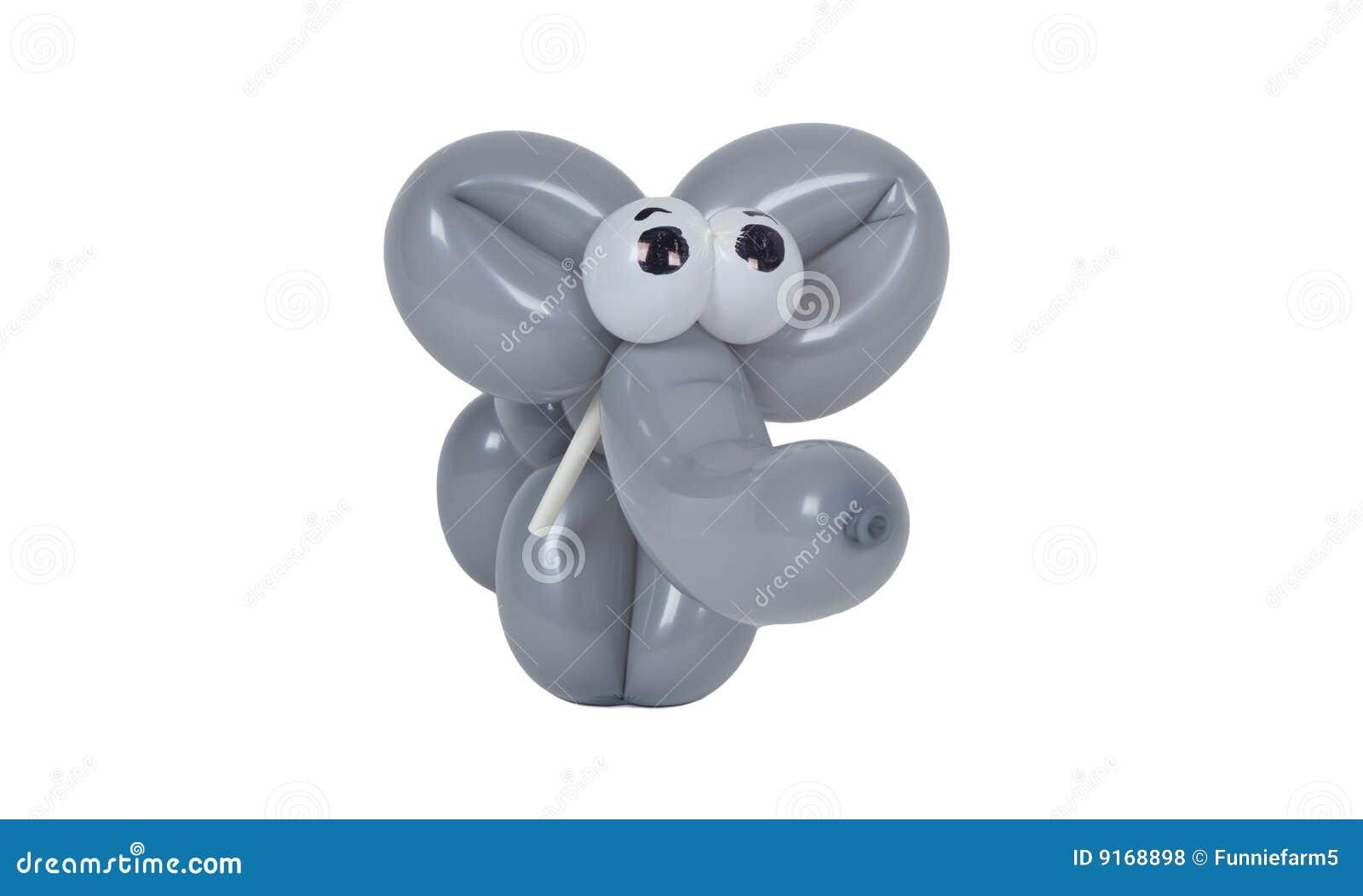 Balloon elephant with eyes royalty free stock photos image 9168898