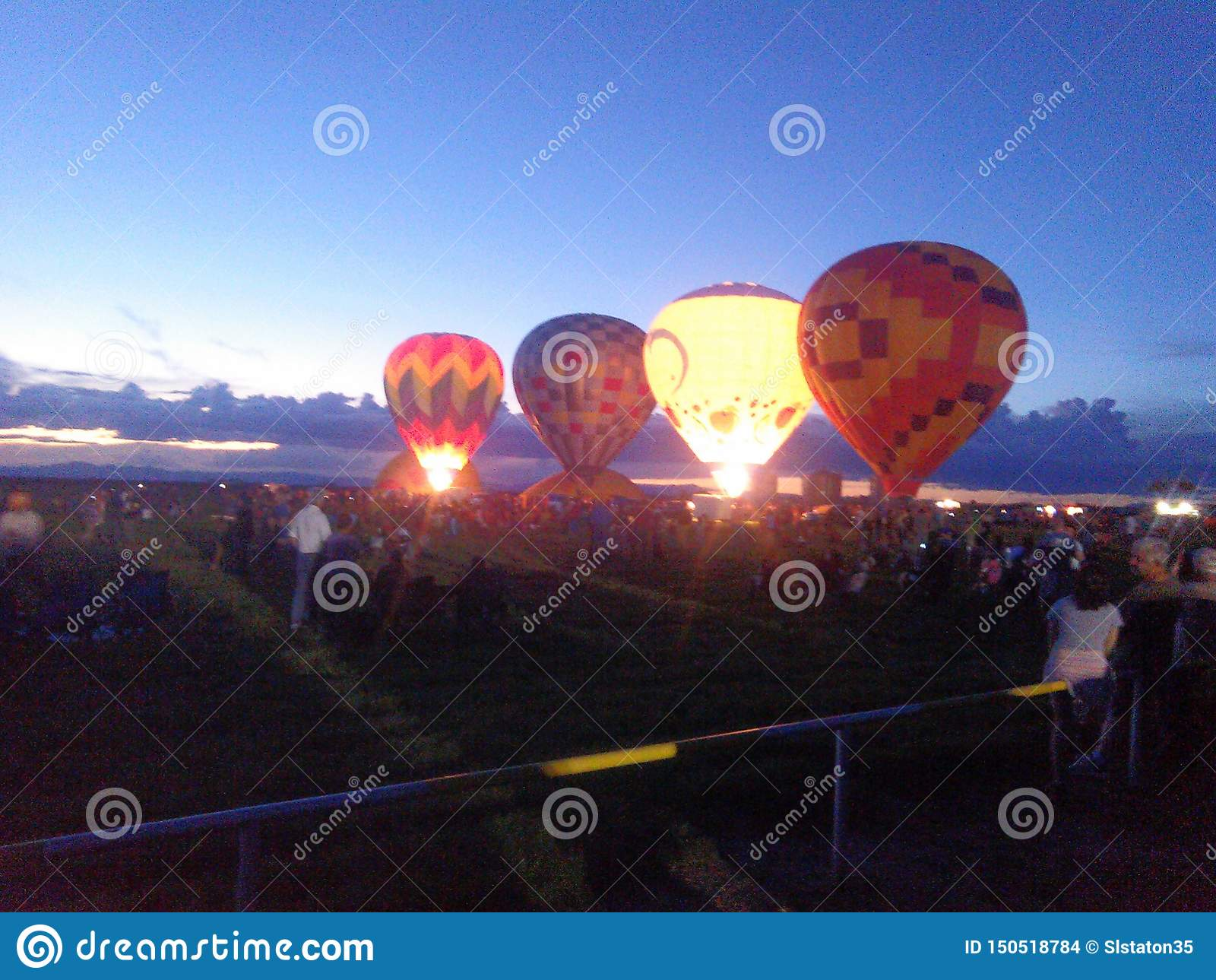 Hot air balloons of New Mexico