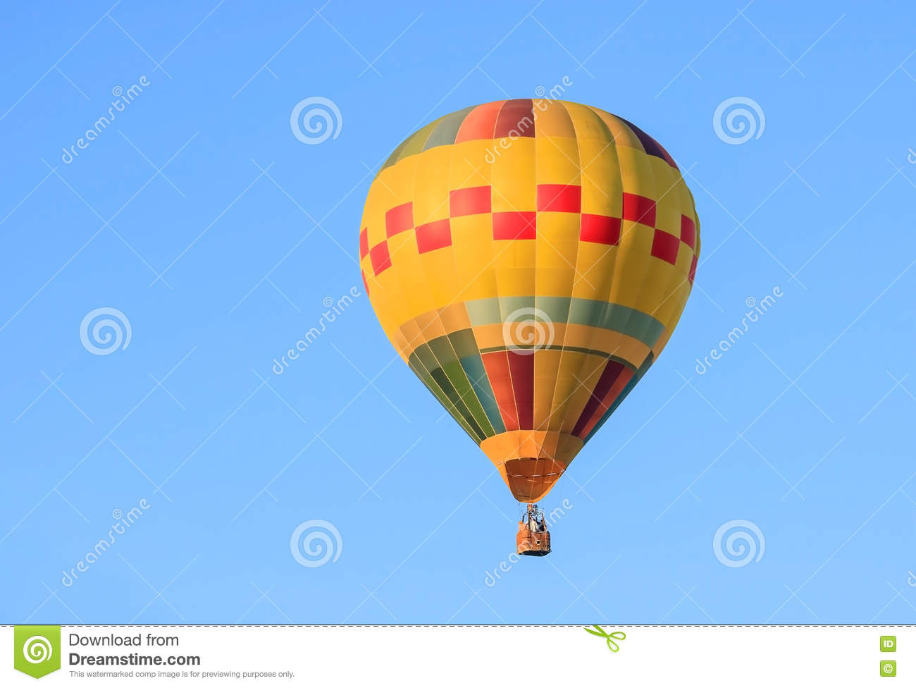 Balloon and sky blue