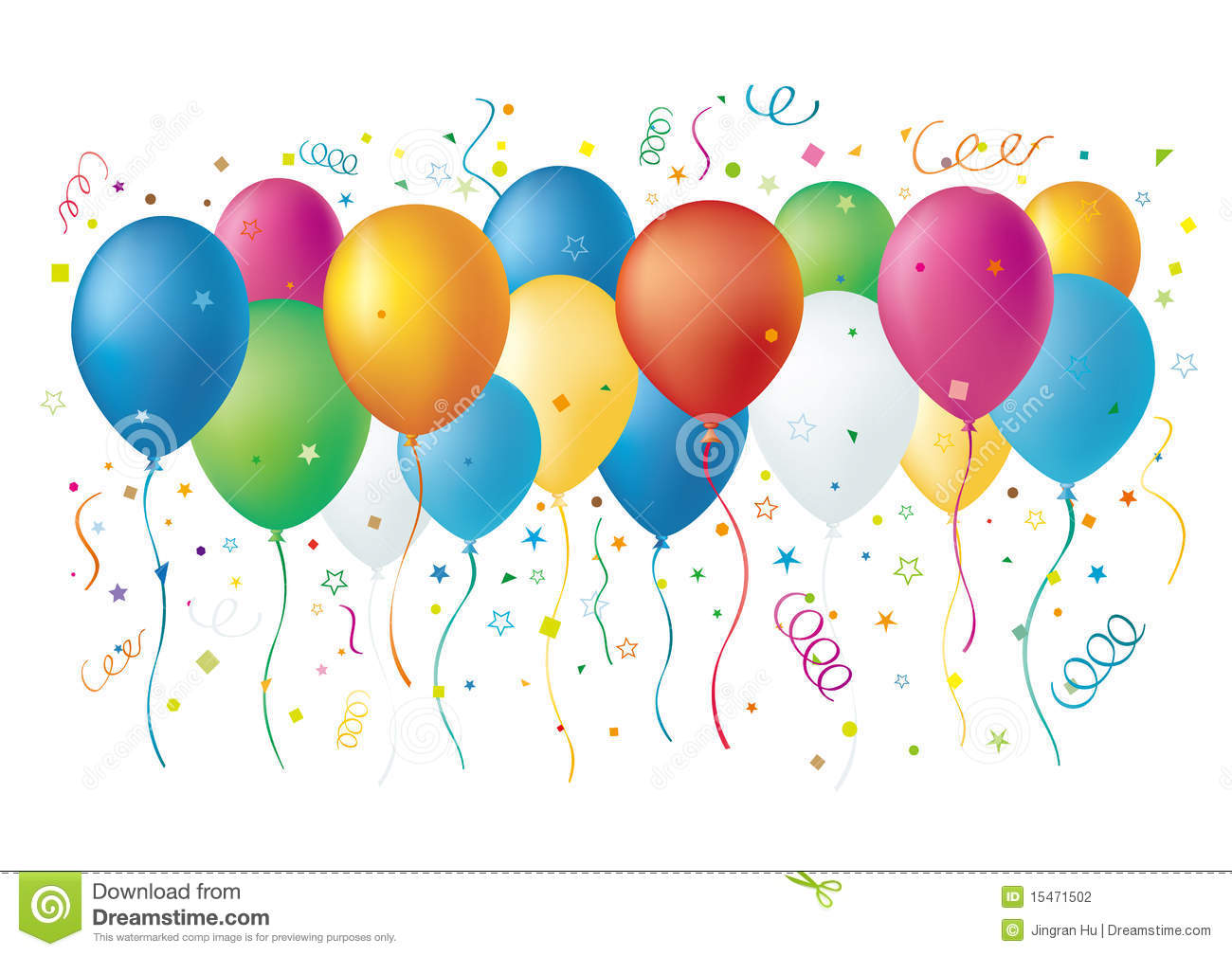 Balloons Stock Photography - Image: 15471502