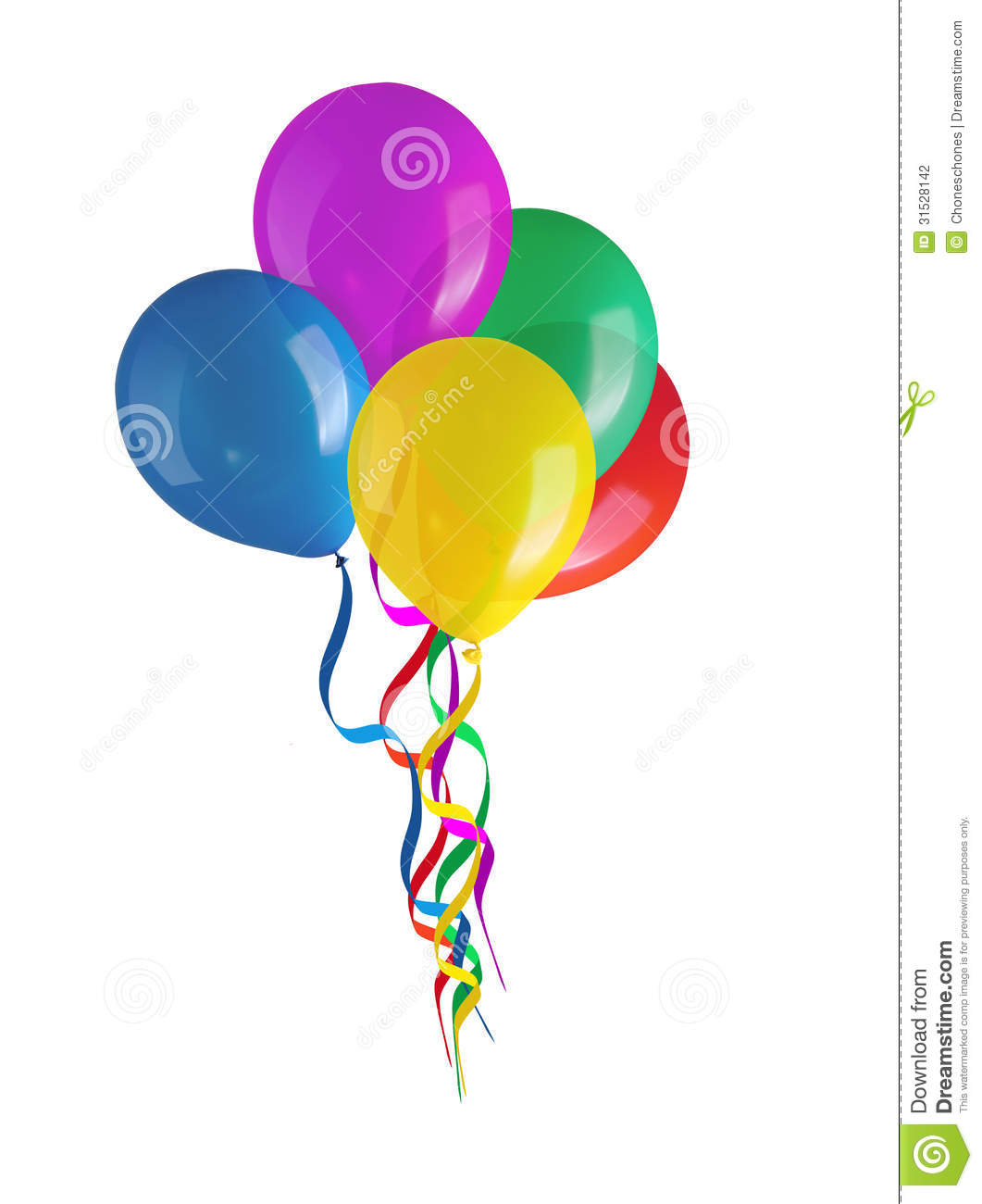 Balloons stock photo. Image of full, filled, carnival ...