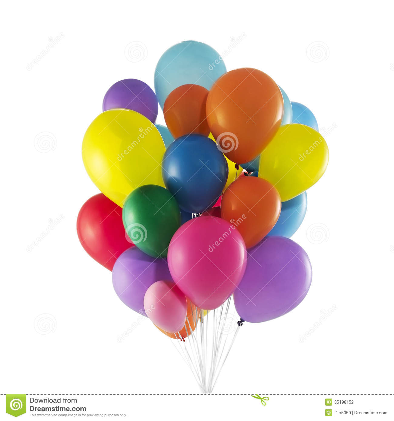 Balloons Stock Photography - Image: 35198152