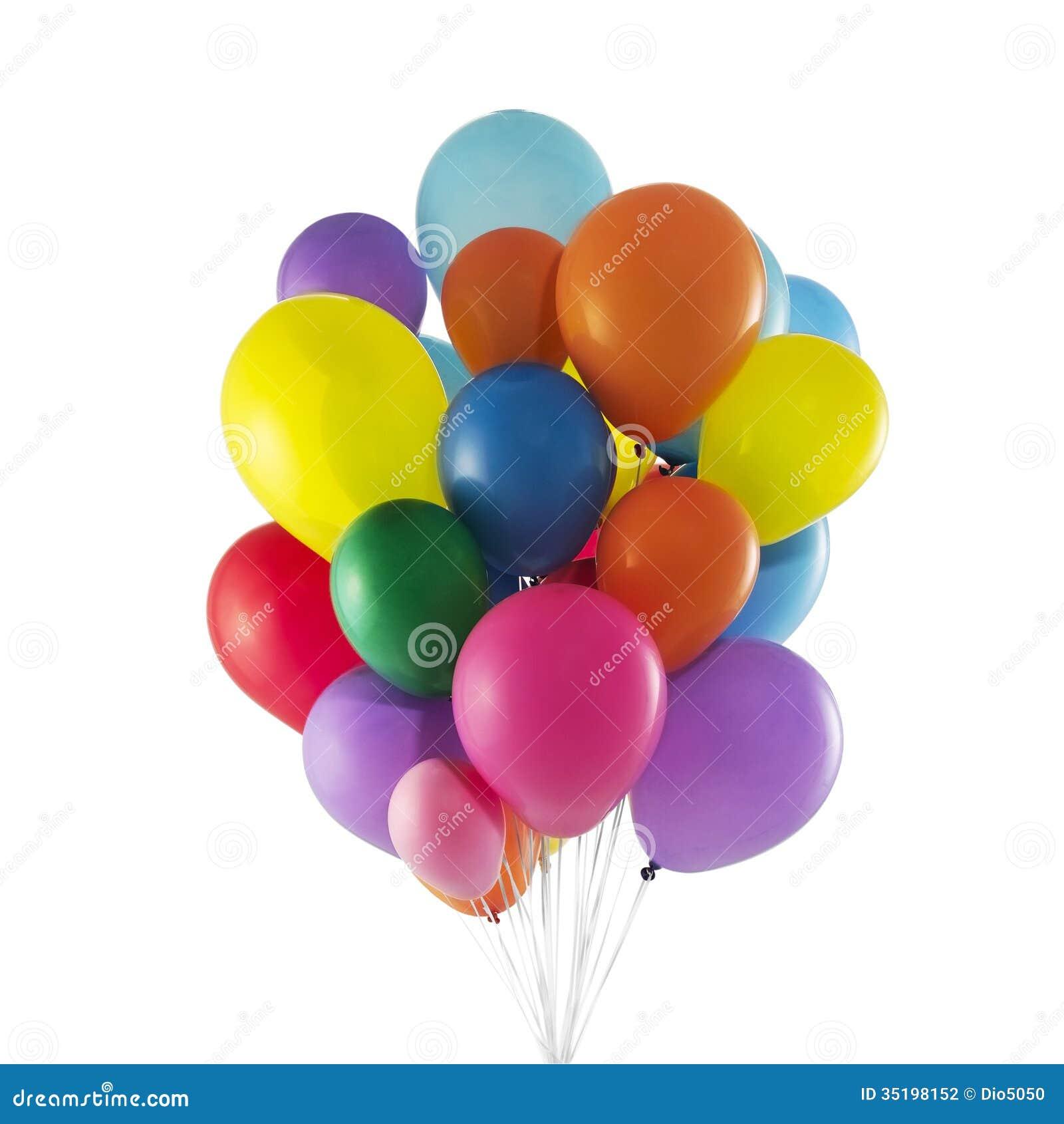 balloons white background - photo #15