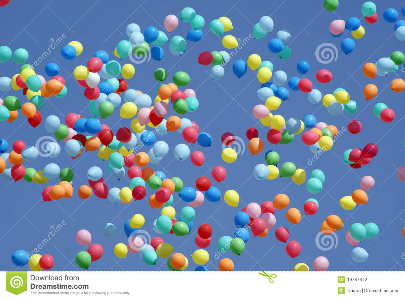 balloons flying in the sky stock photo image of ball