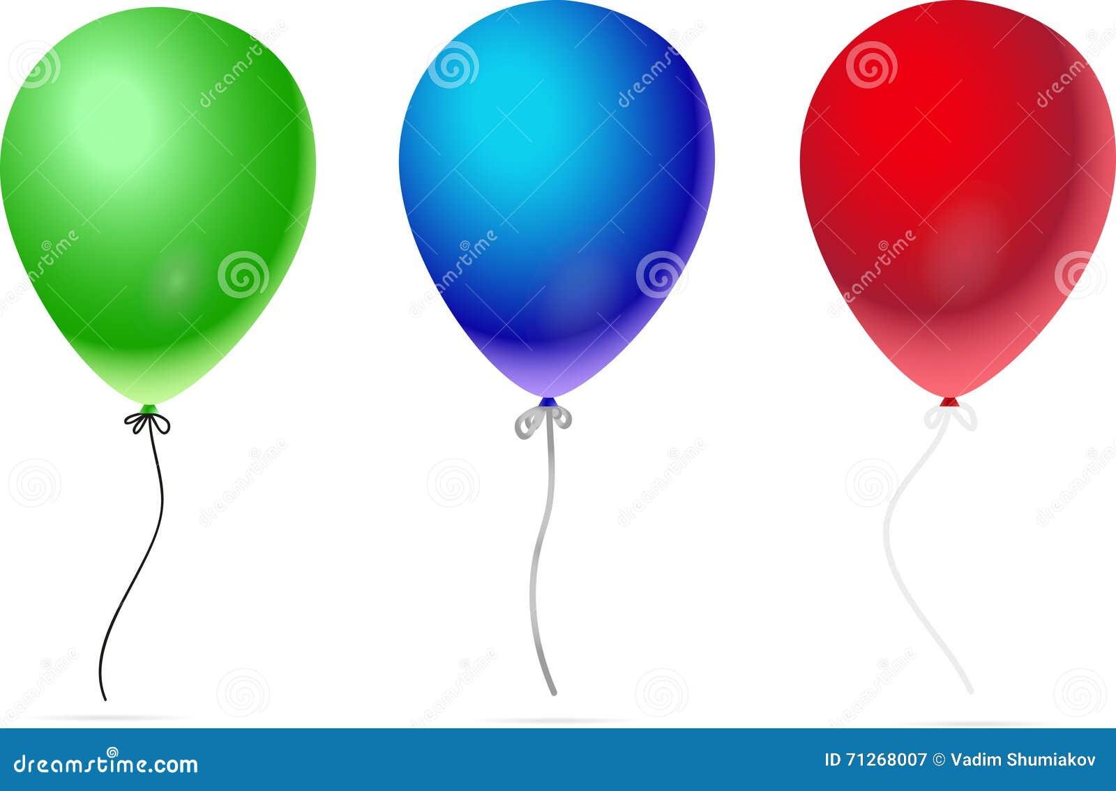 balloons white background - photo #30