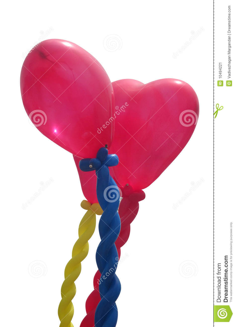 Balloons - path included