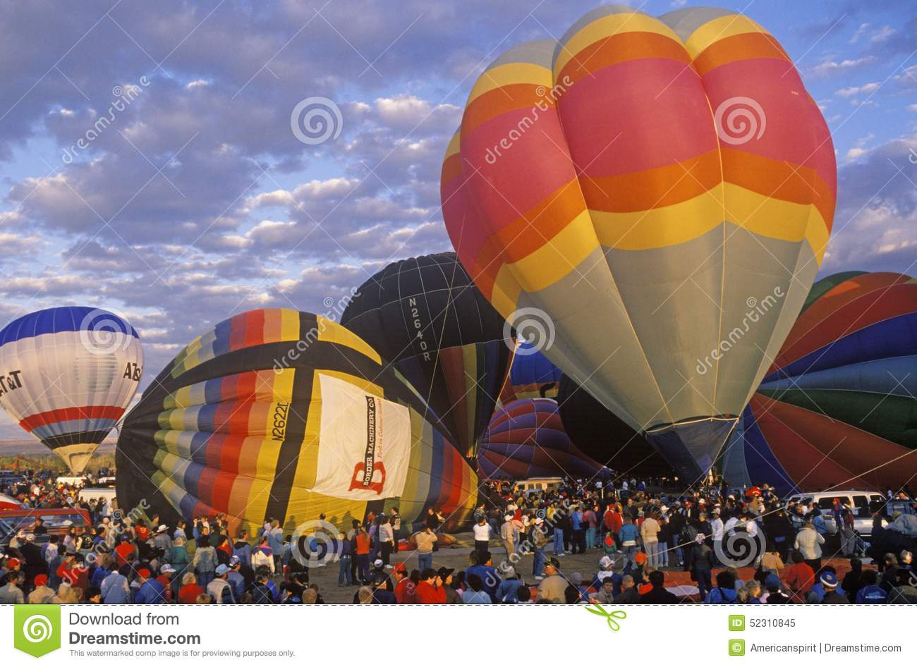 Balloons Take To The Air At The Albuquerque International ...