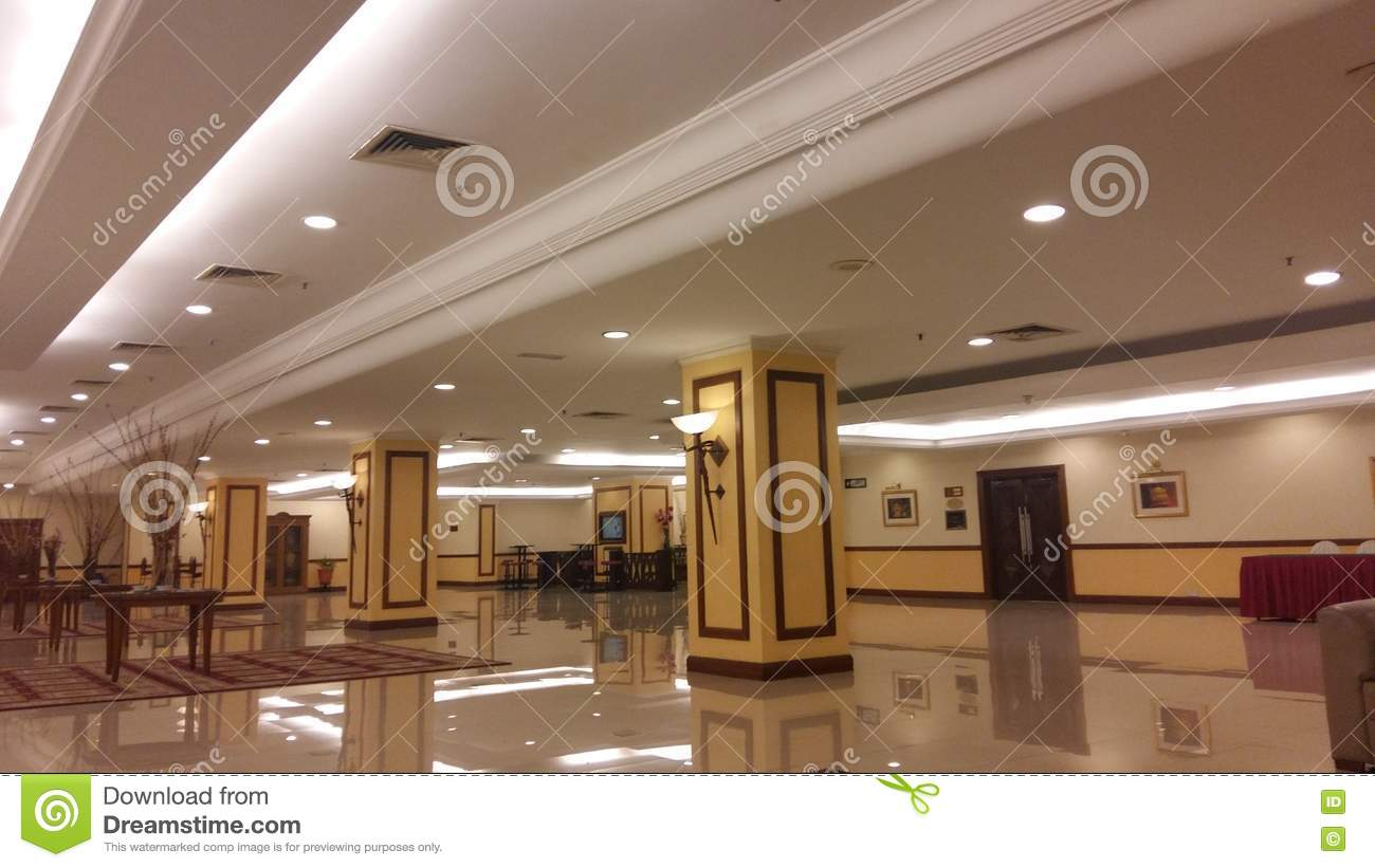 Ballroom foyer design editorial stock image   image: 75436199