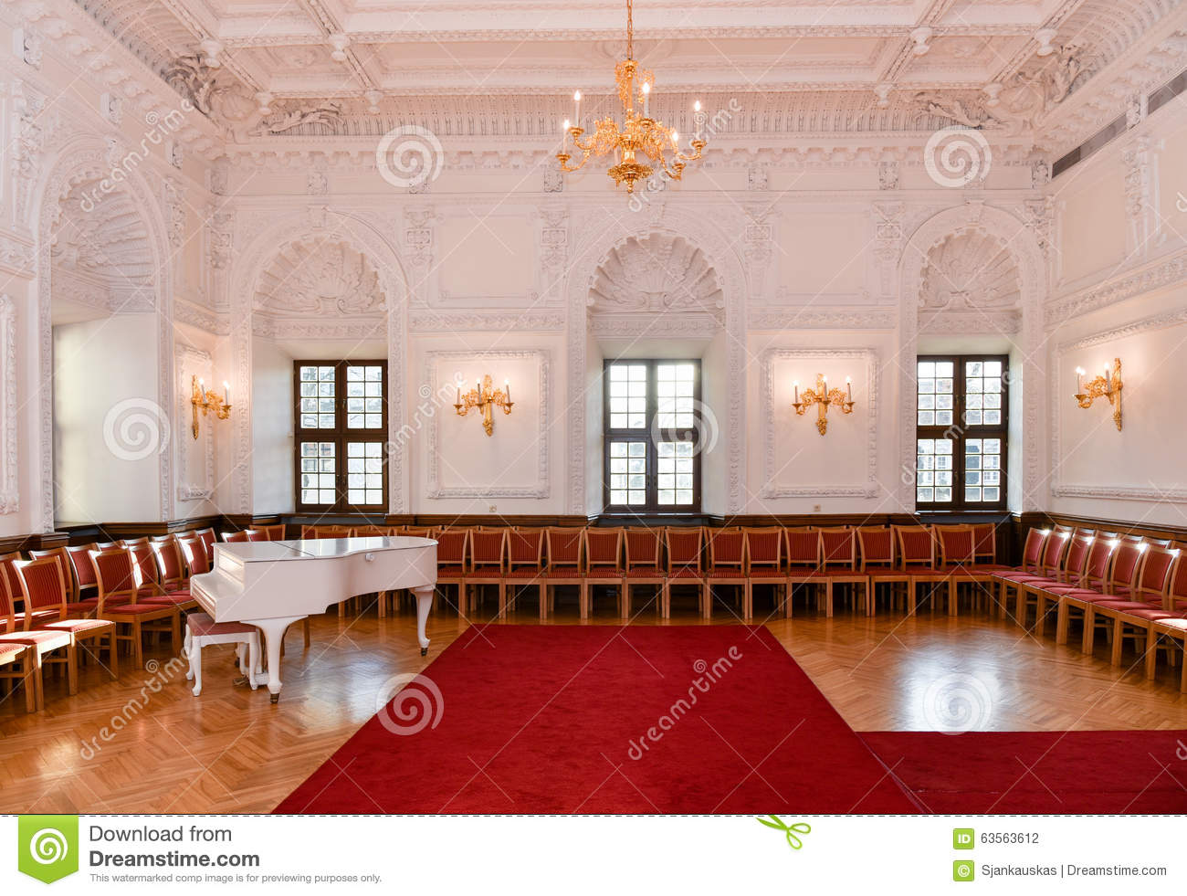 Ballroom Hall Stock Photo Image 63563612