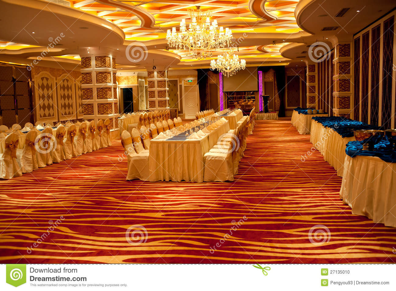 Royalty-Free Stock Photo. Download Ballroom Interior Design ...