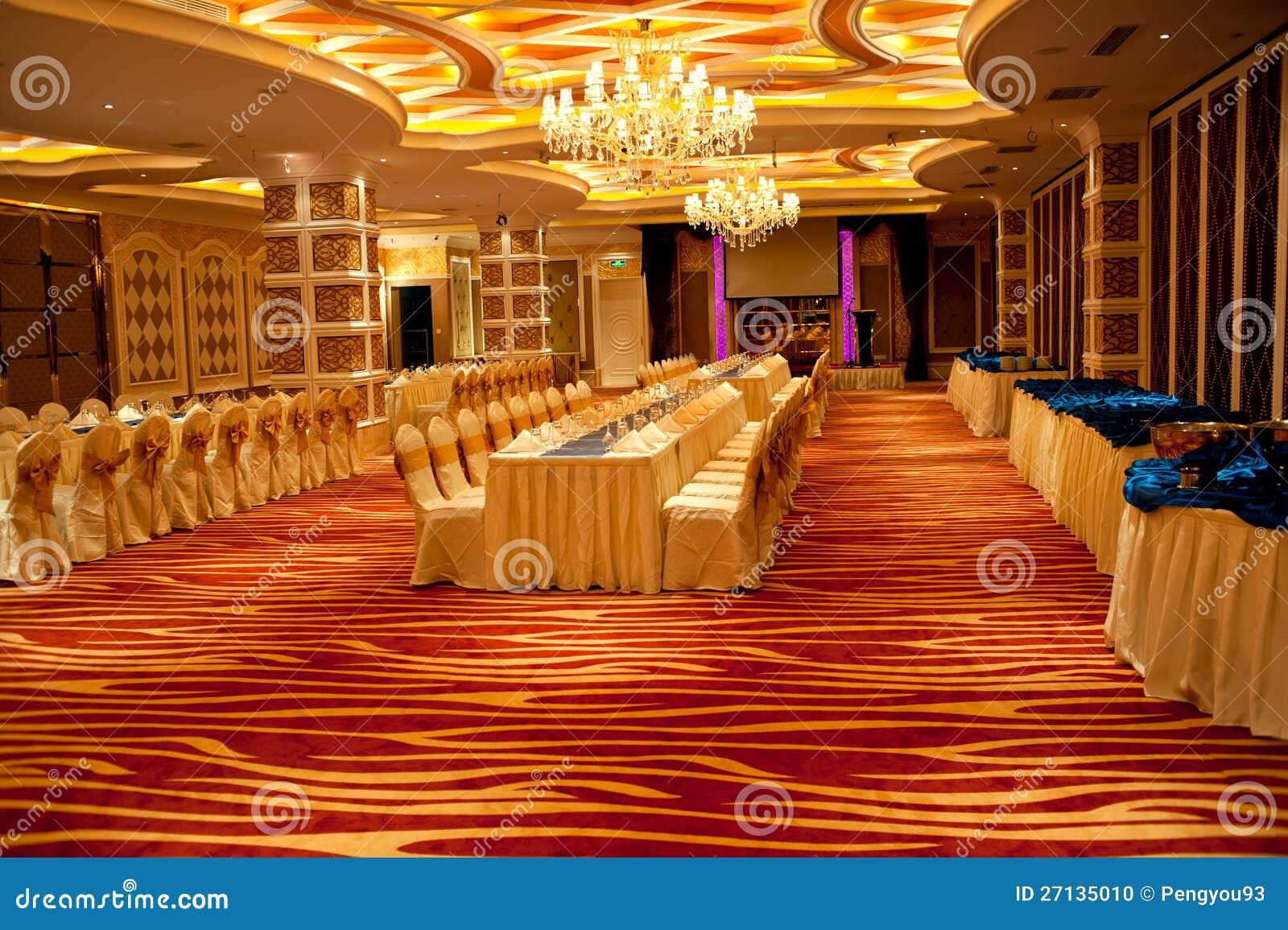 Ballroom Interior Design Stock Photo Image 27135010