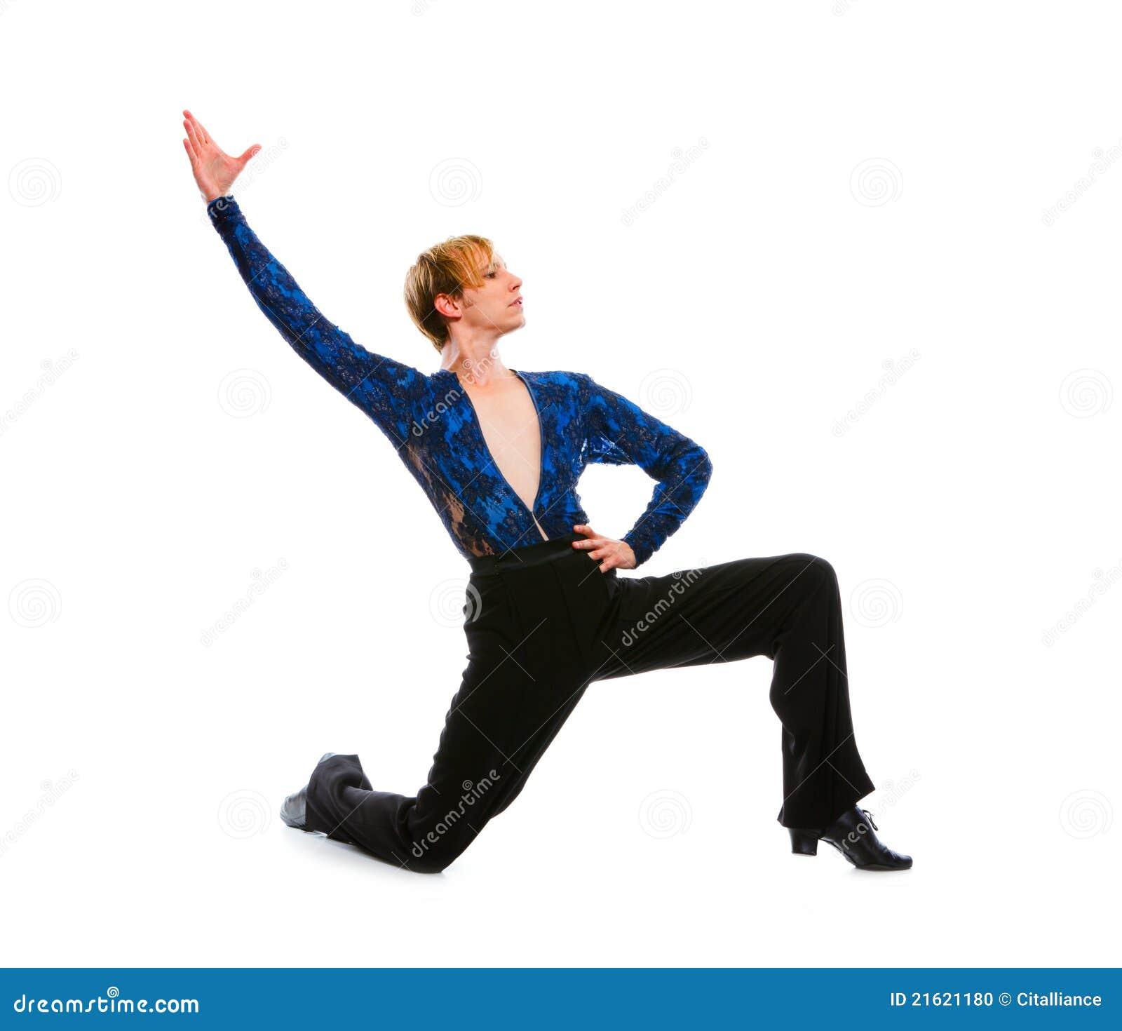 male dancing