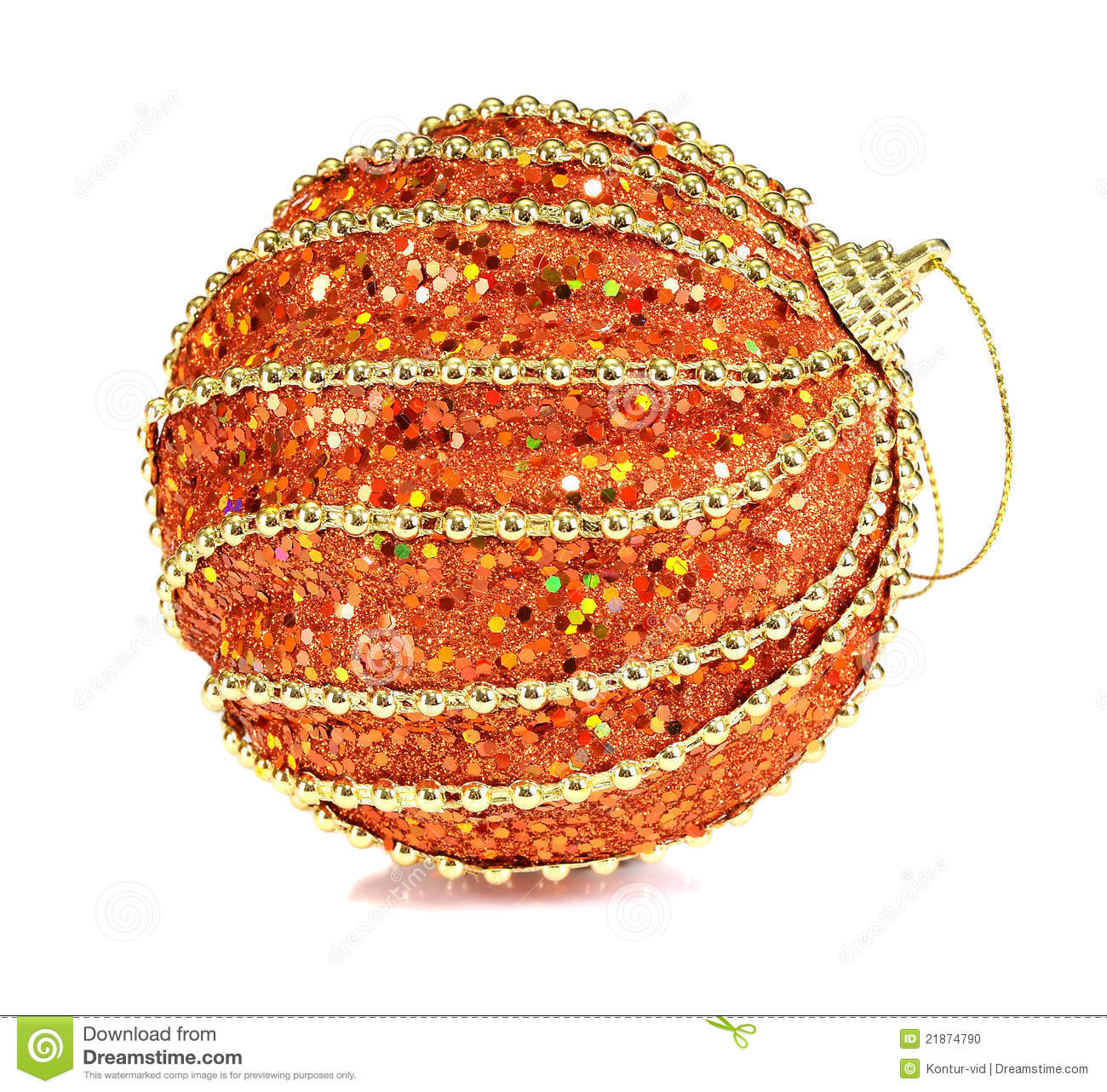 Balls Decoration For New Year And Christmas Stock Photo ...
