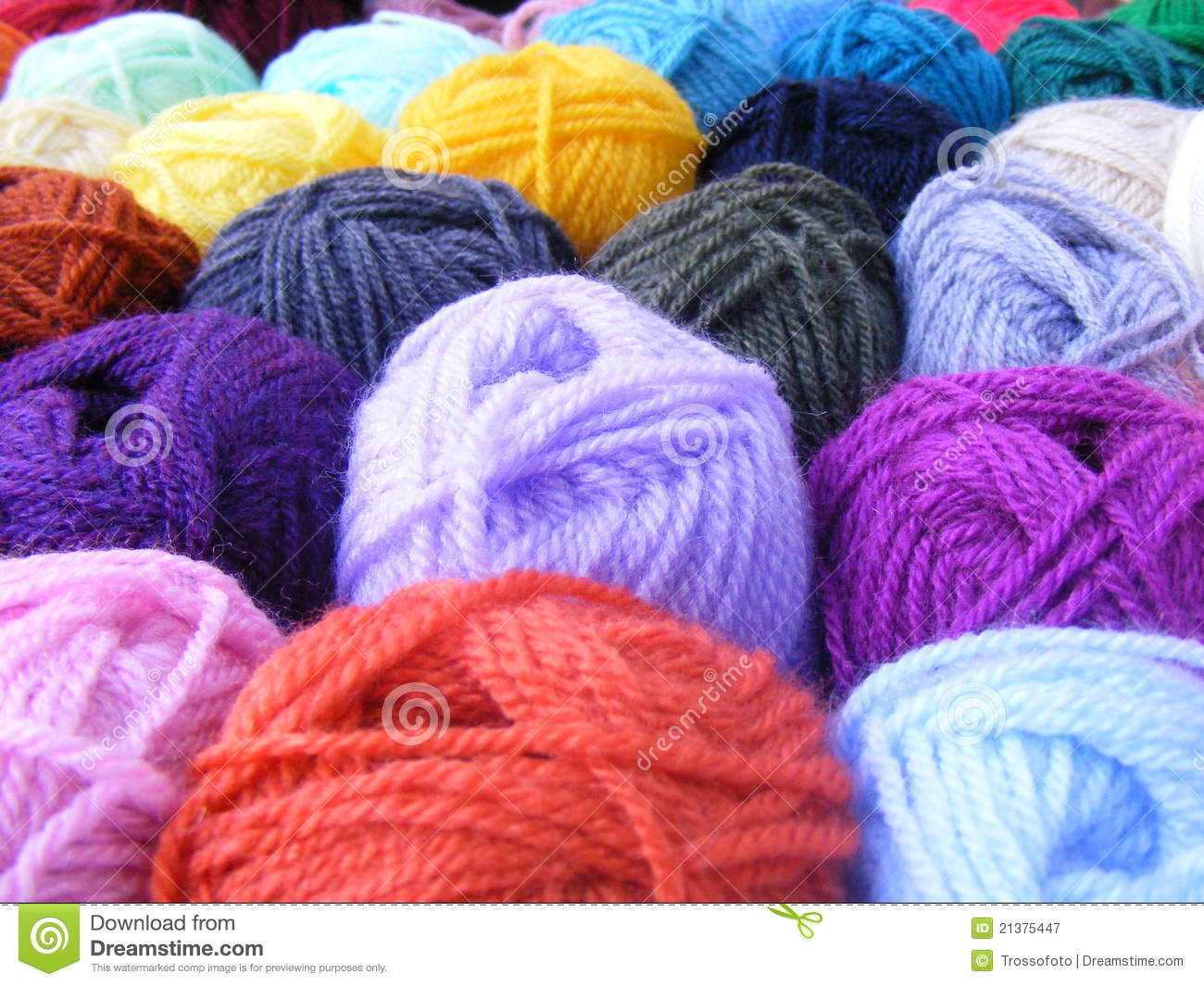 Balls Of Wool Royalty Free Stock Photography Image 21375447