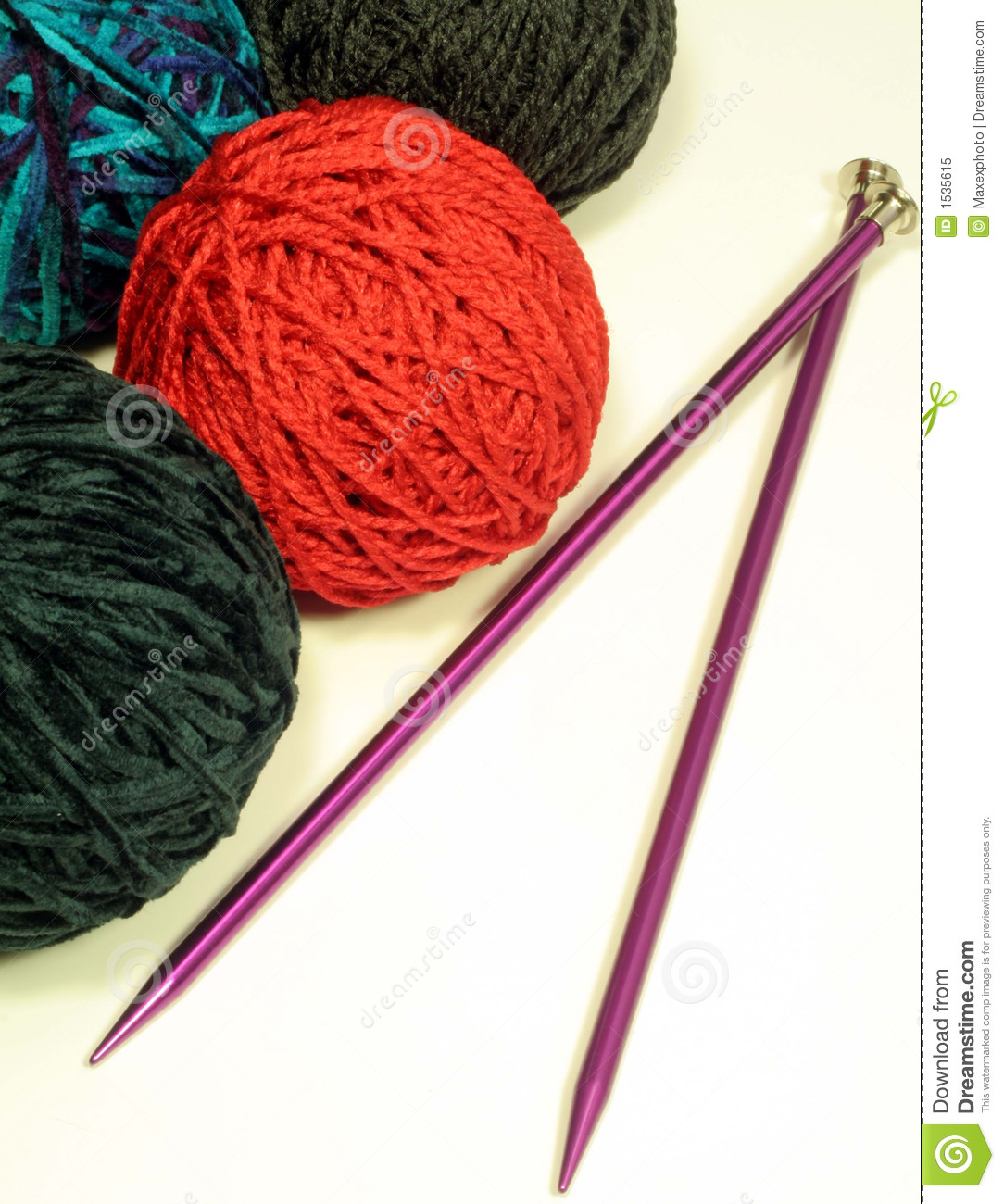 Yarn Ball Needles | www.imgkid.com - The Image Kid Has It!