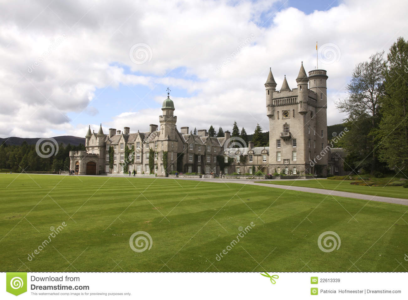 balmoral castle royalty free stock images   image 22613339