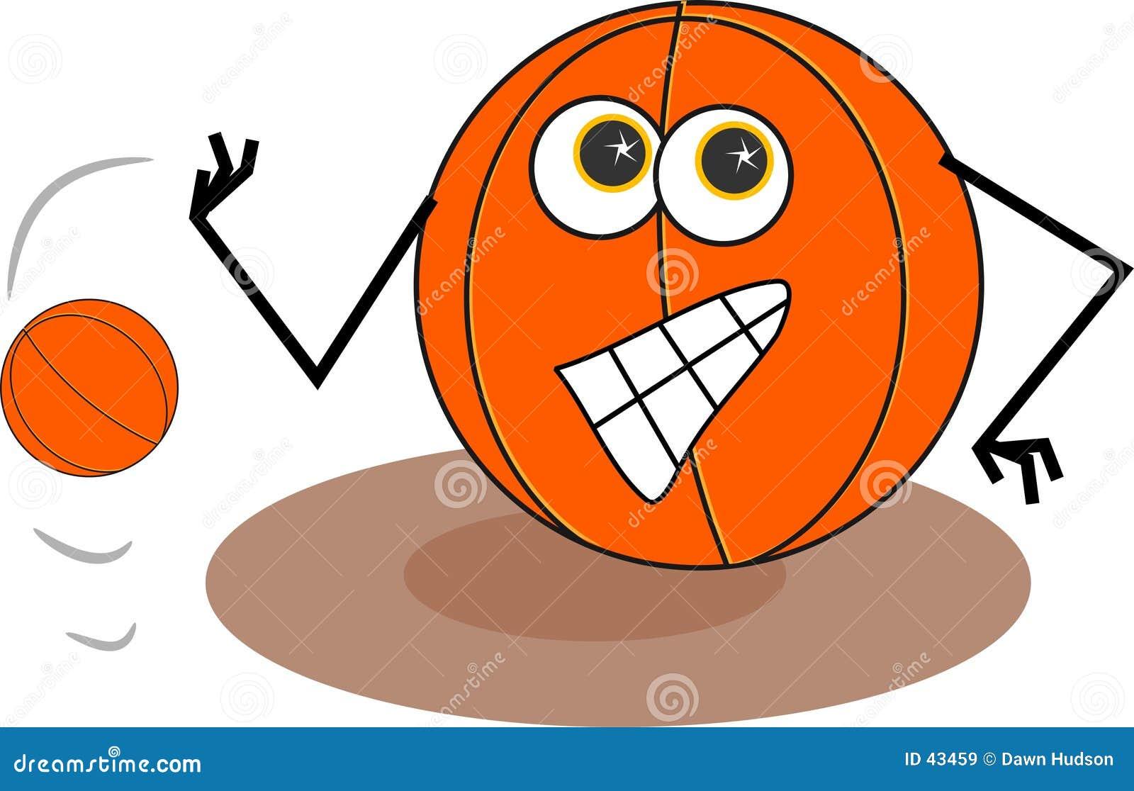 Download Baloncesto ilustración del vector. Ilustración de deportes - 43459