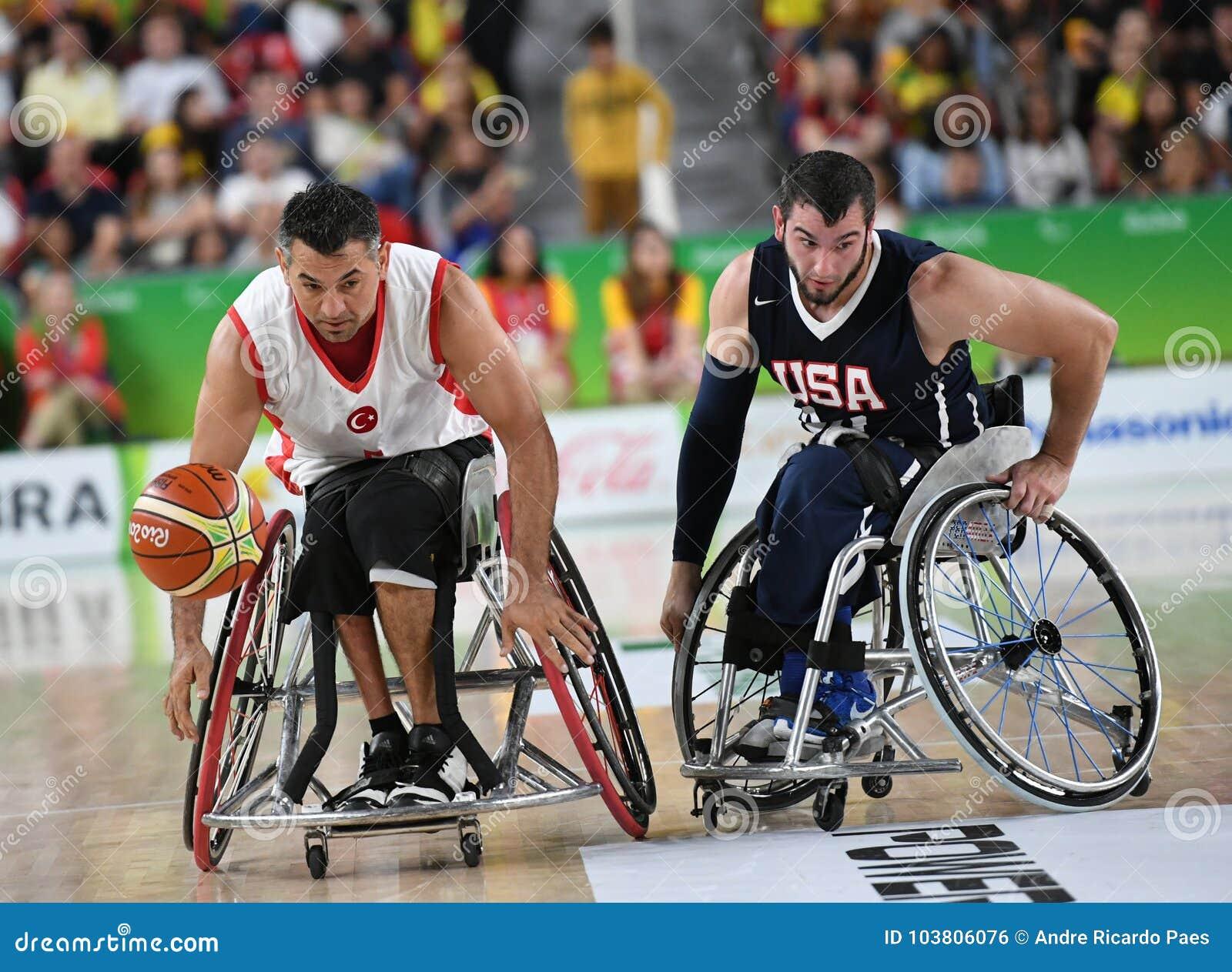 Baloncesto 2016 de los juegos de Paralympics