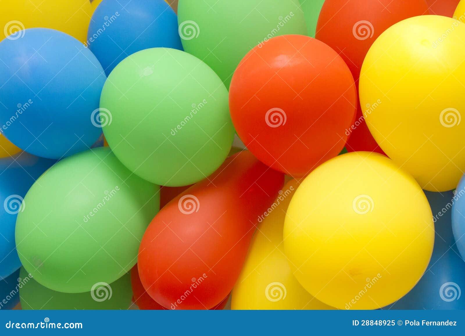 Balones de aire coloridos