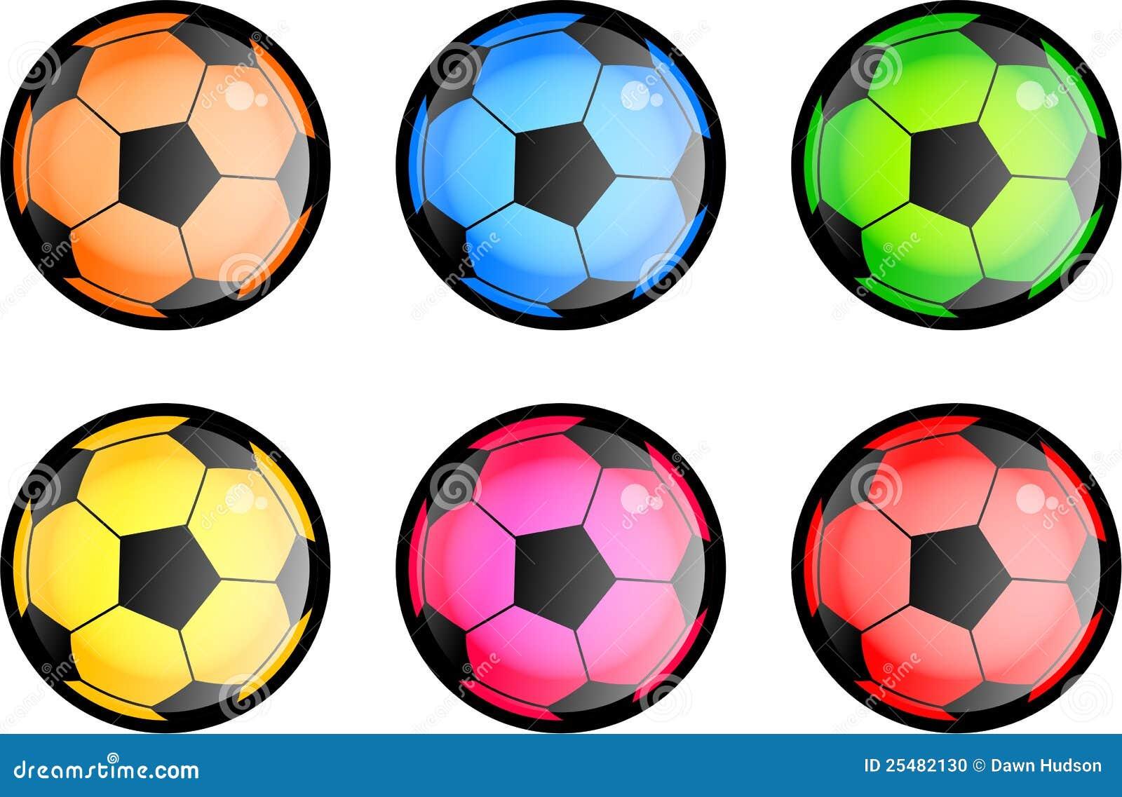 balones de f u00fatbol brillantes stock de ilustraci u00f3n soccer vector free soccer vector logo