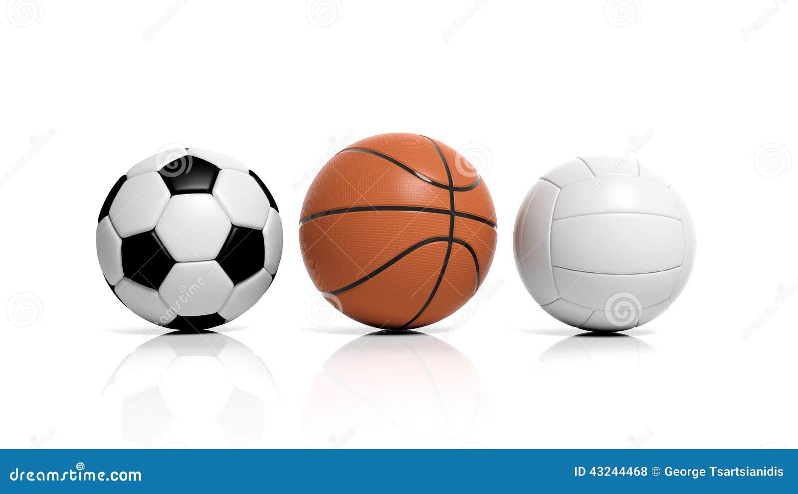 balones del voleibol  del baloncesto y de f u00fatbol stock de ilustraci u00f3n imagen 43244468 volleyball vector file volleyball vector file