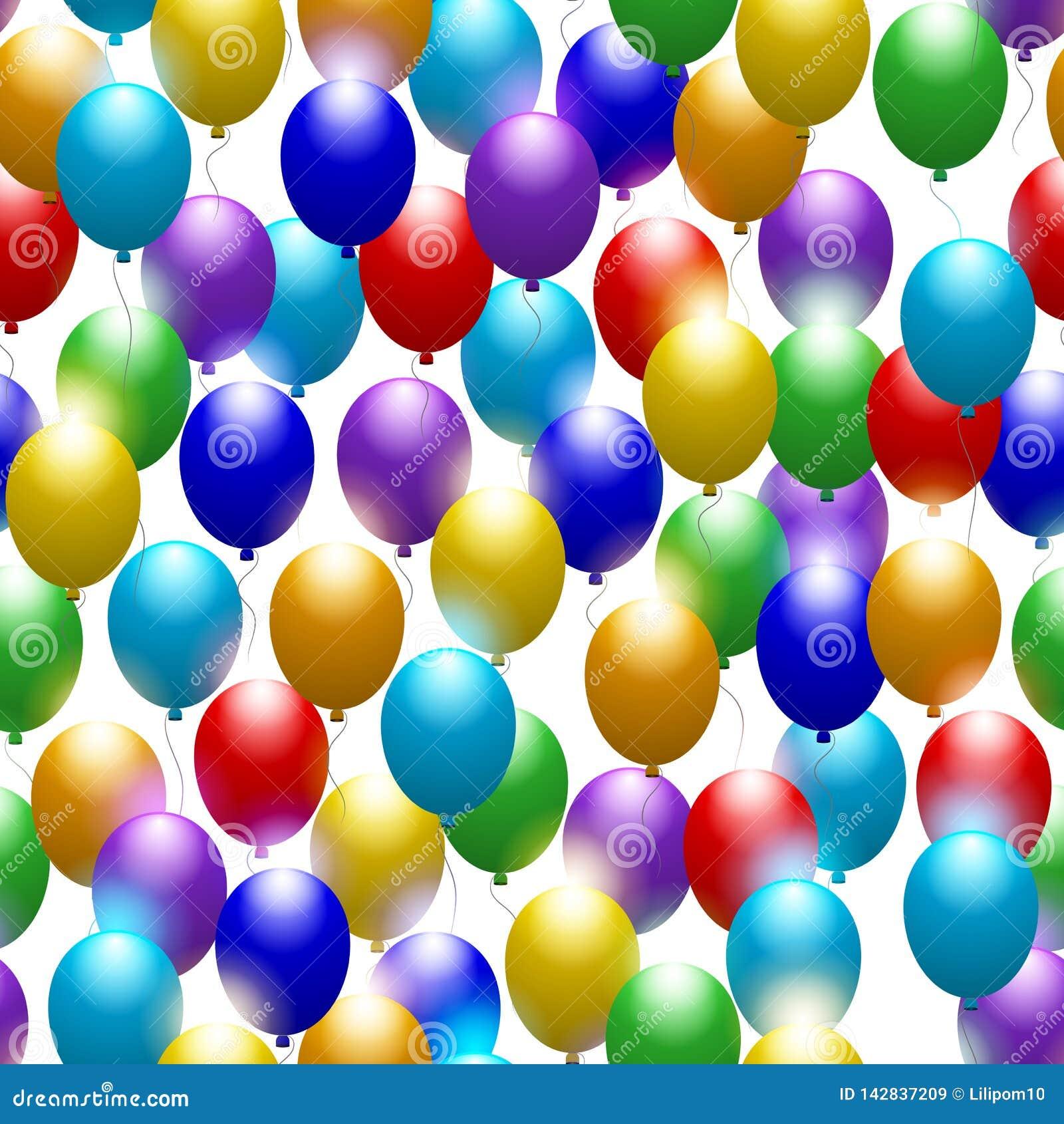 Baloney безшовное предпосылки праздничное Поздравительная открытка с годовщиной или днем рождения вектор