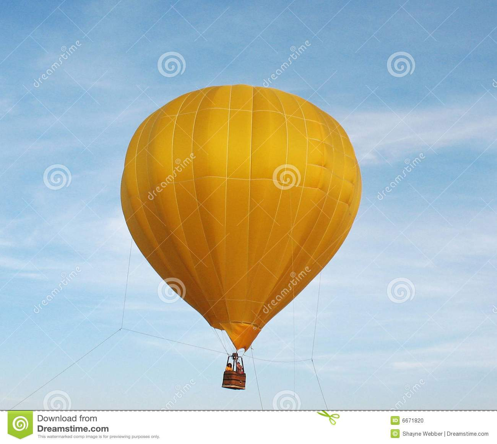 Balonowy kolor żółty
