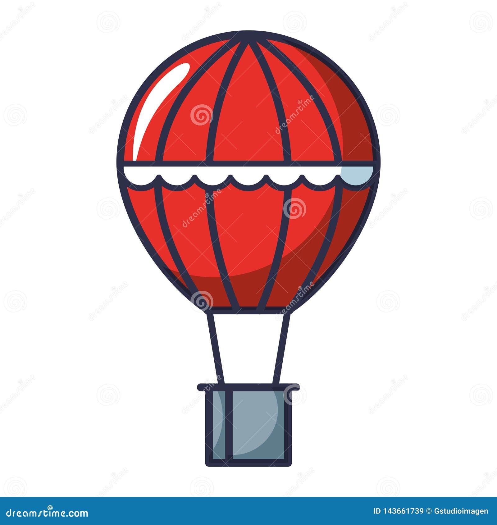 Balonowy lotniczy gorący latanie