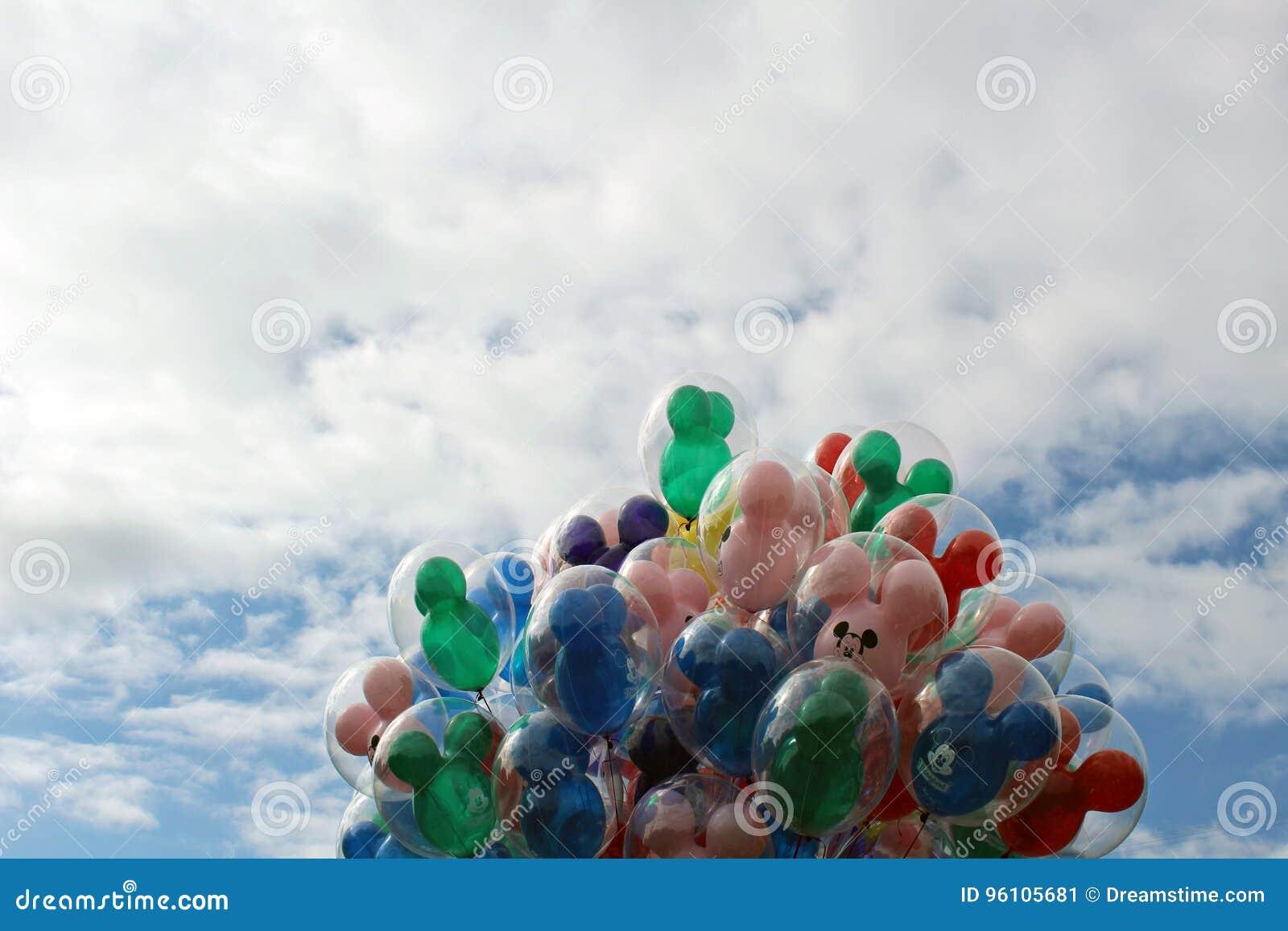 Balony, Disneyland