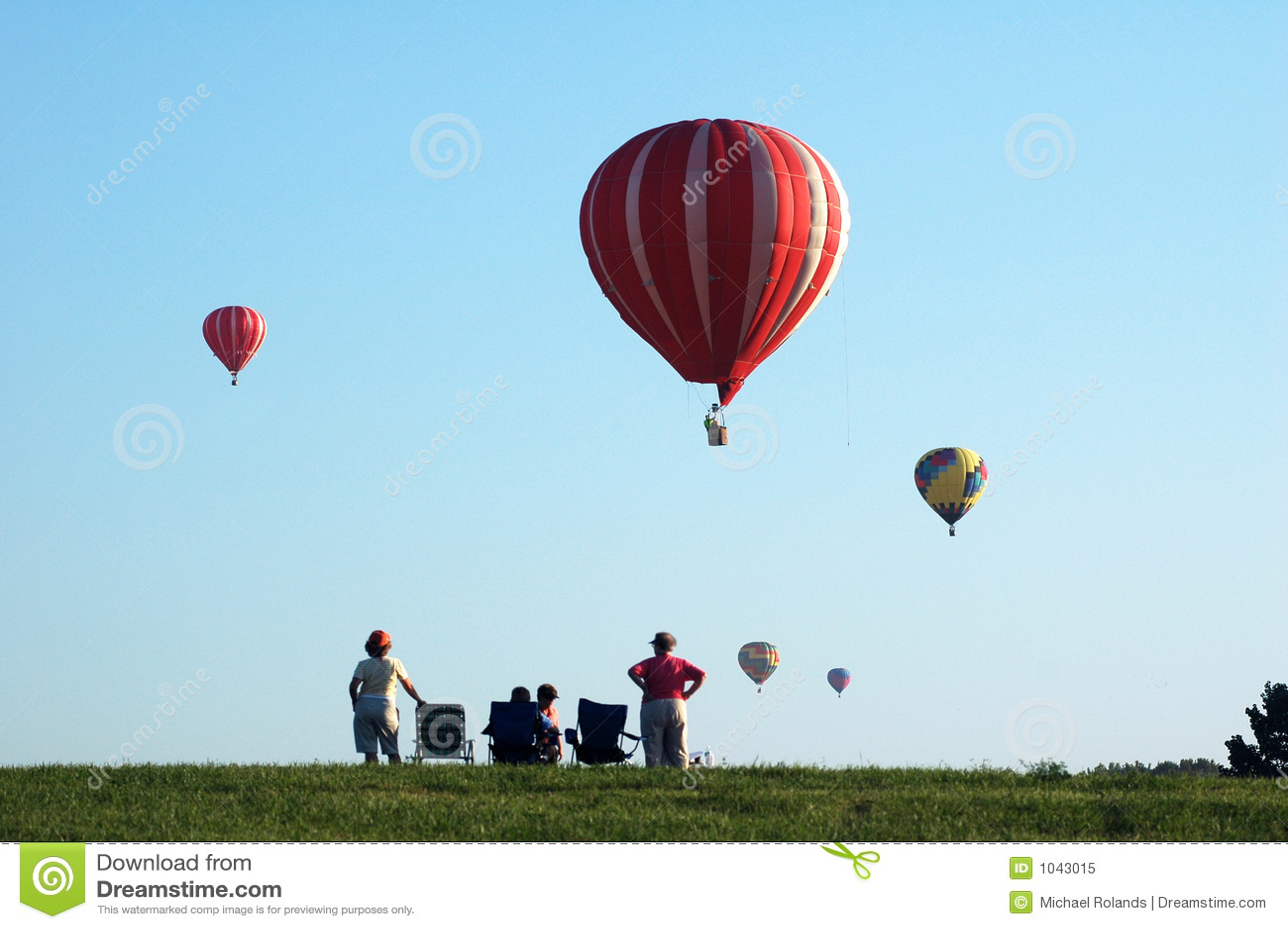 Balony powietrza gorące Iowa