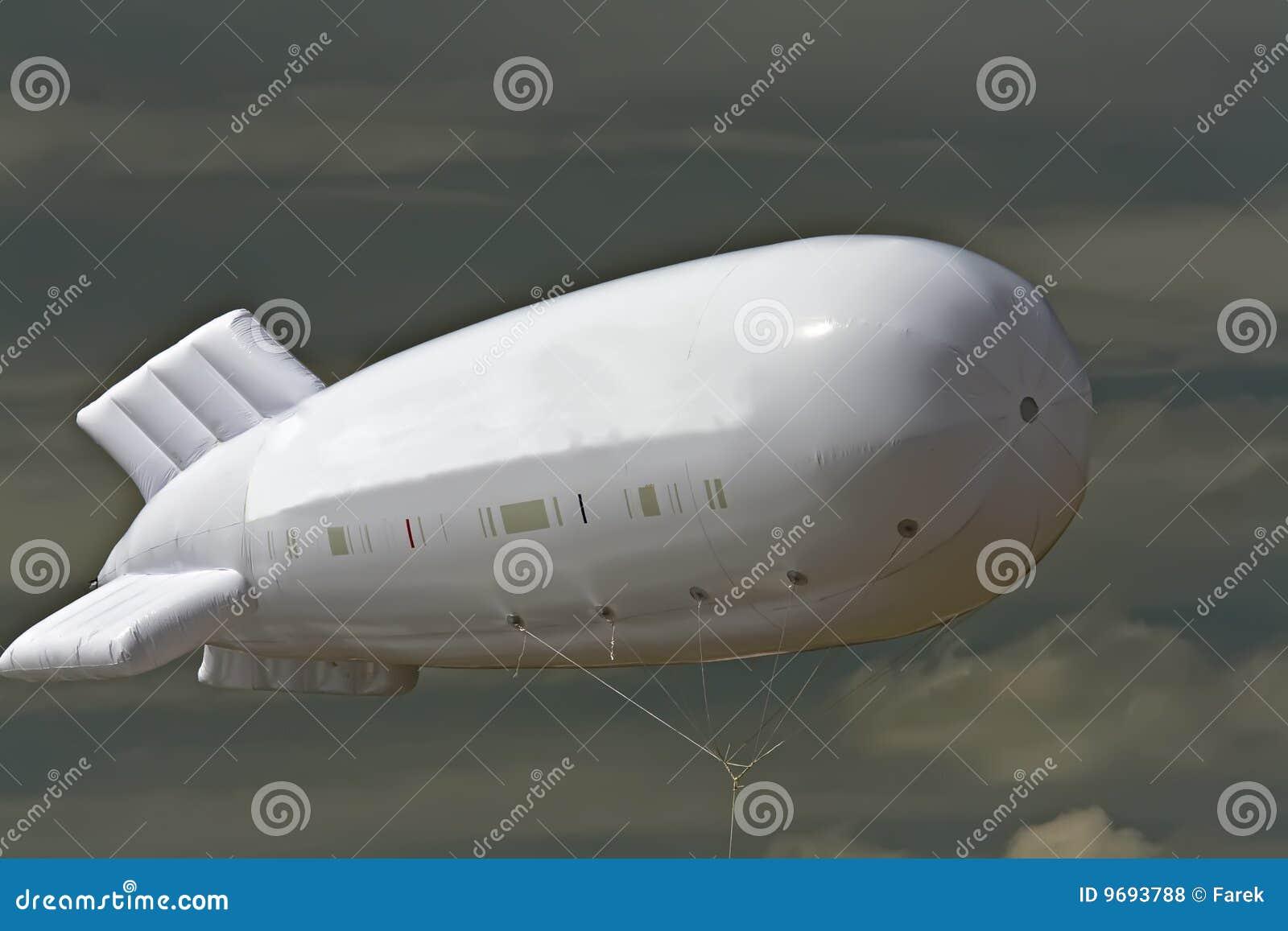 Baloon tiene gusto del dirigible