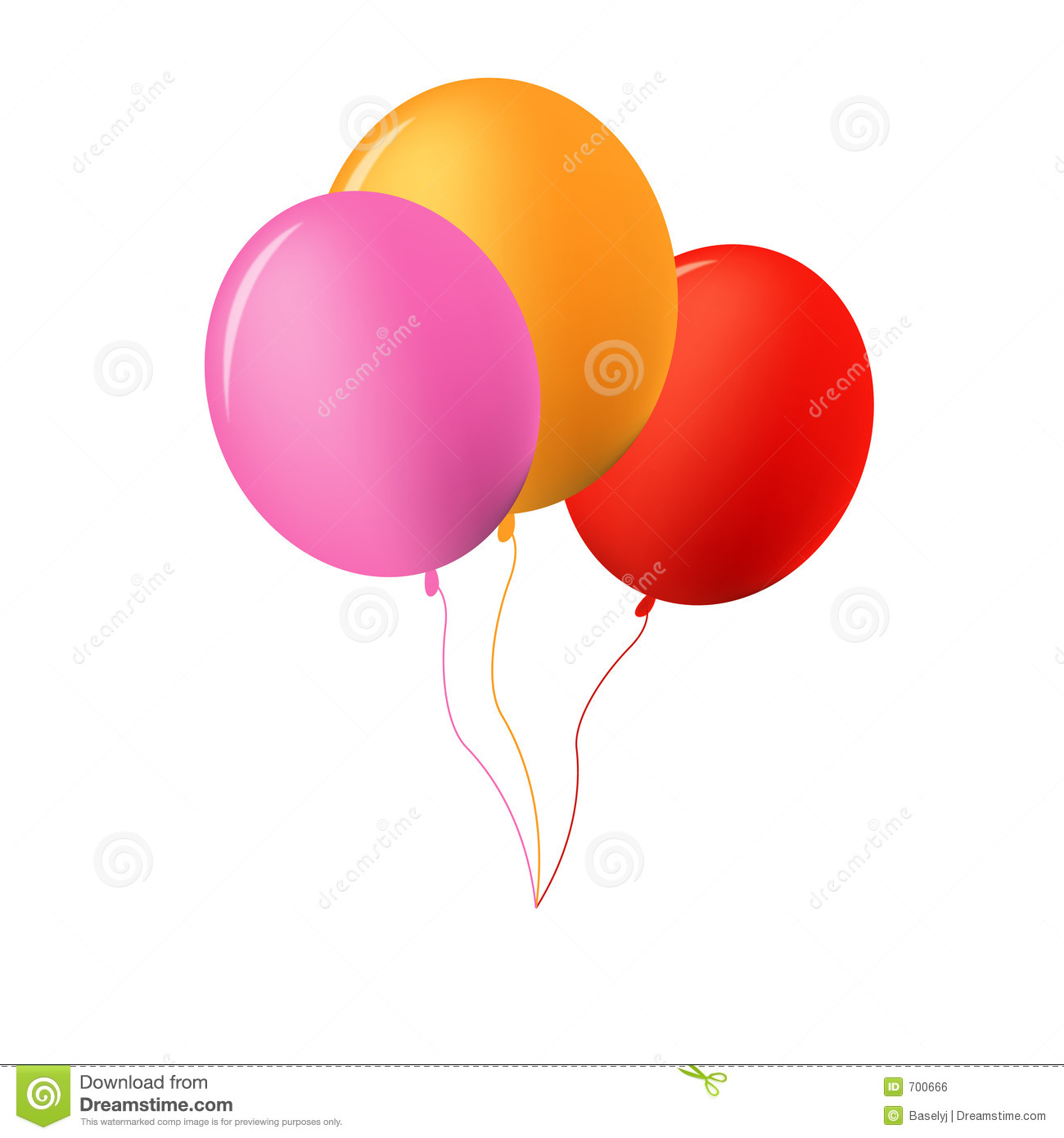Baloons Royalty Free Stock Image - Image: 700666