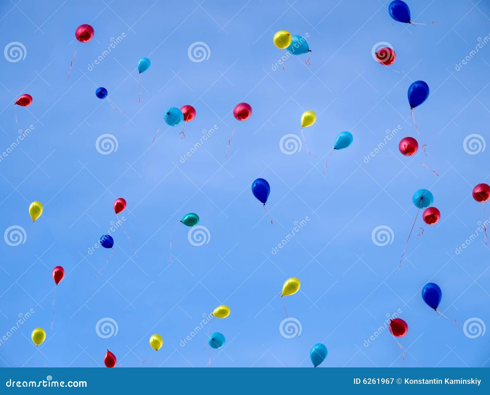 Baloons no céu