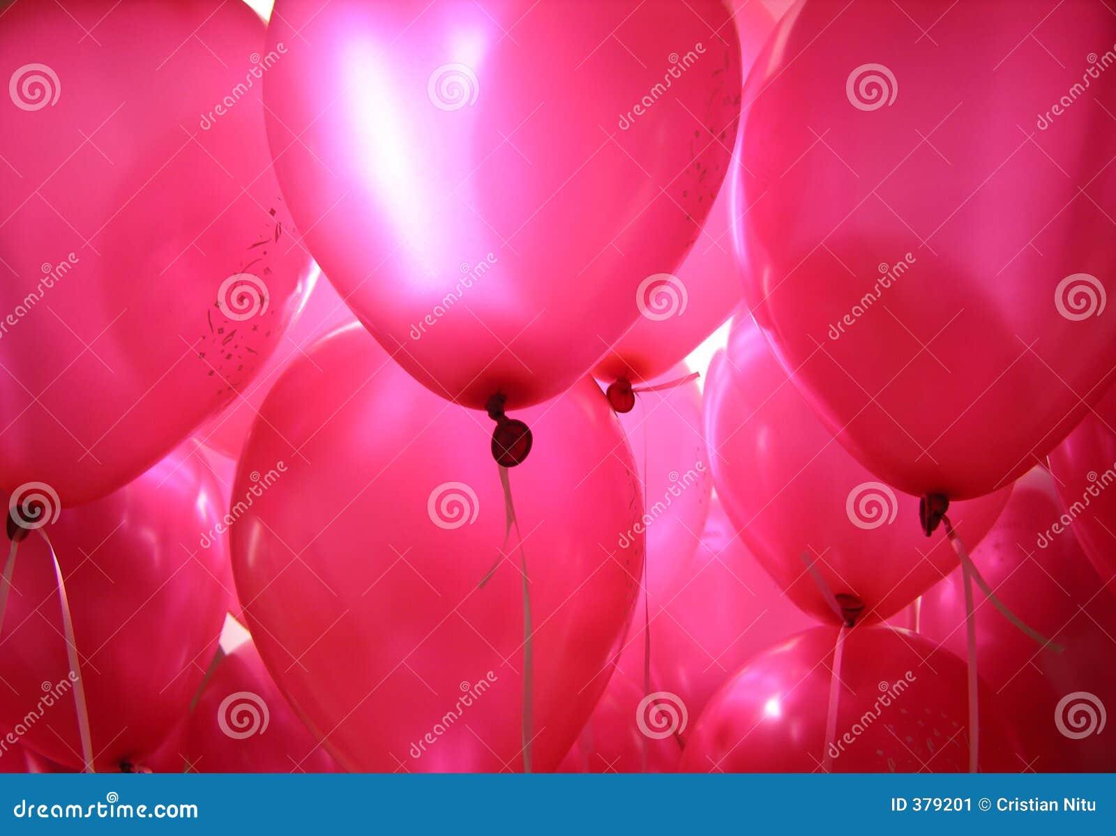 Baloons rose