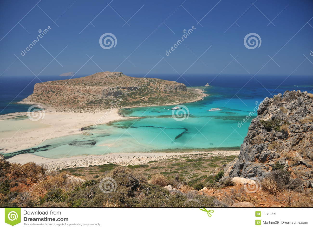 Balos Beach Stock Photography - Image: 6679622