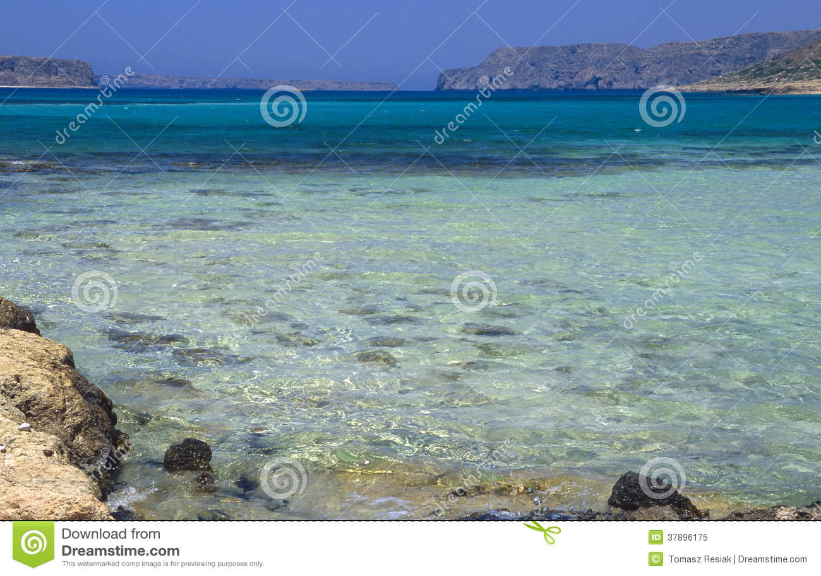 Balosstrand, het Eiland van Kreta