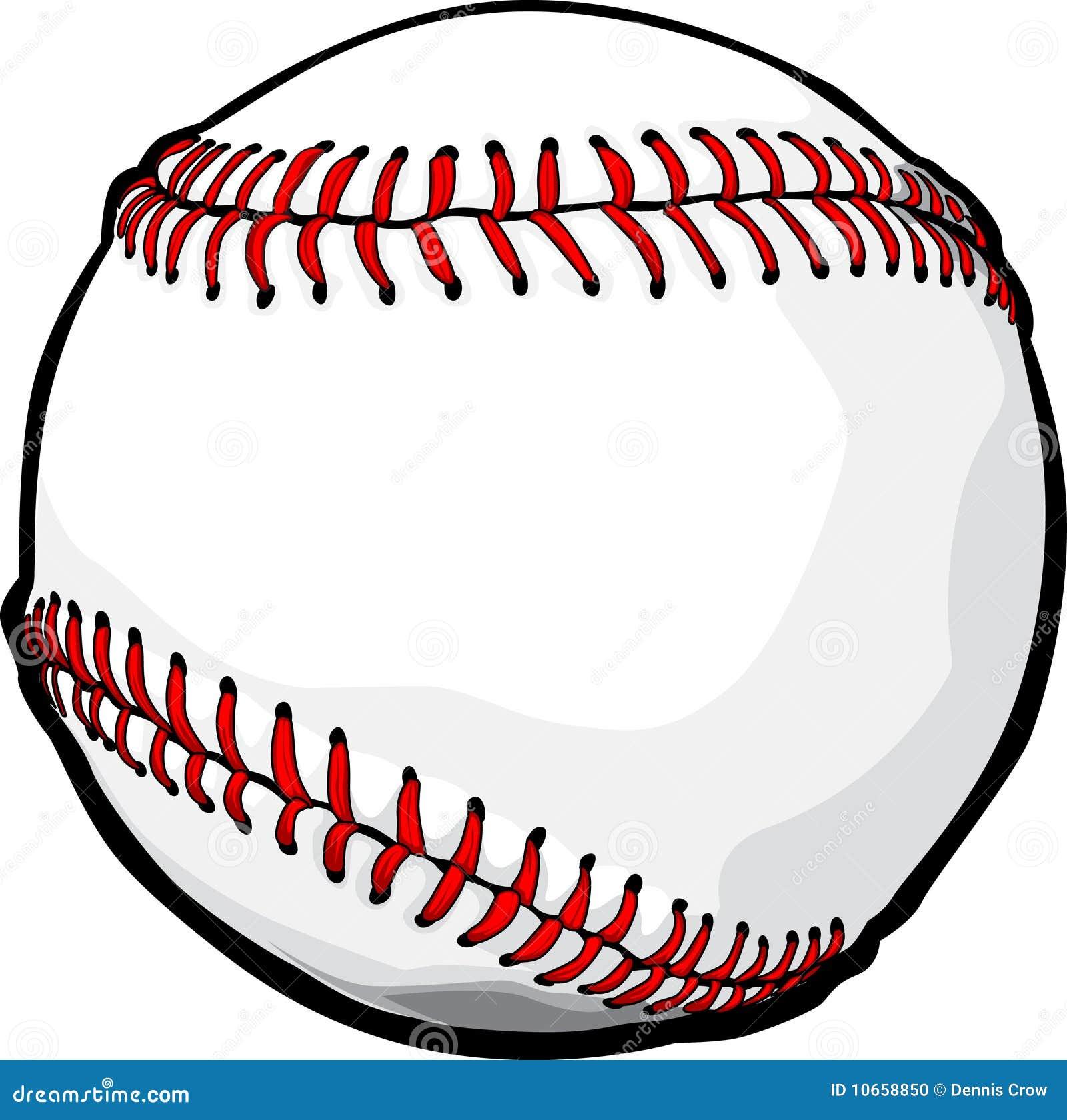 Balowy baseballa wizerunku wektor